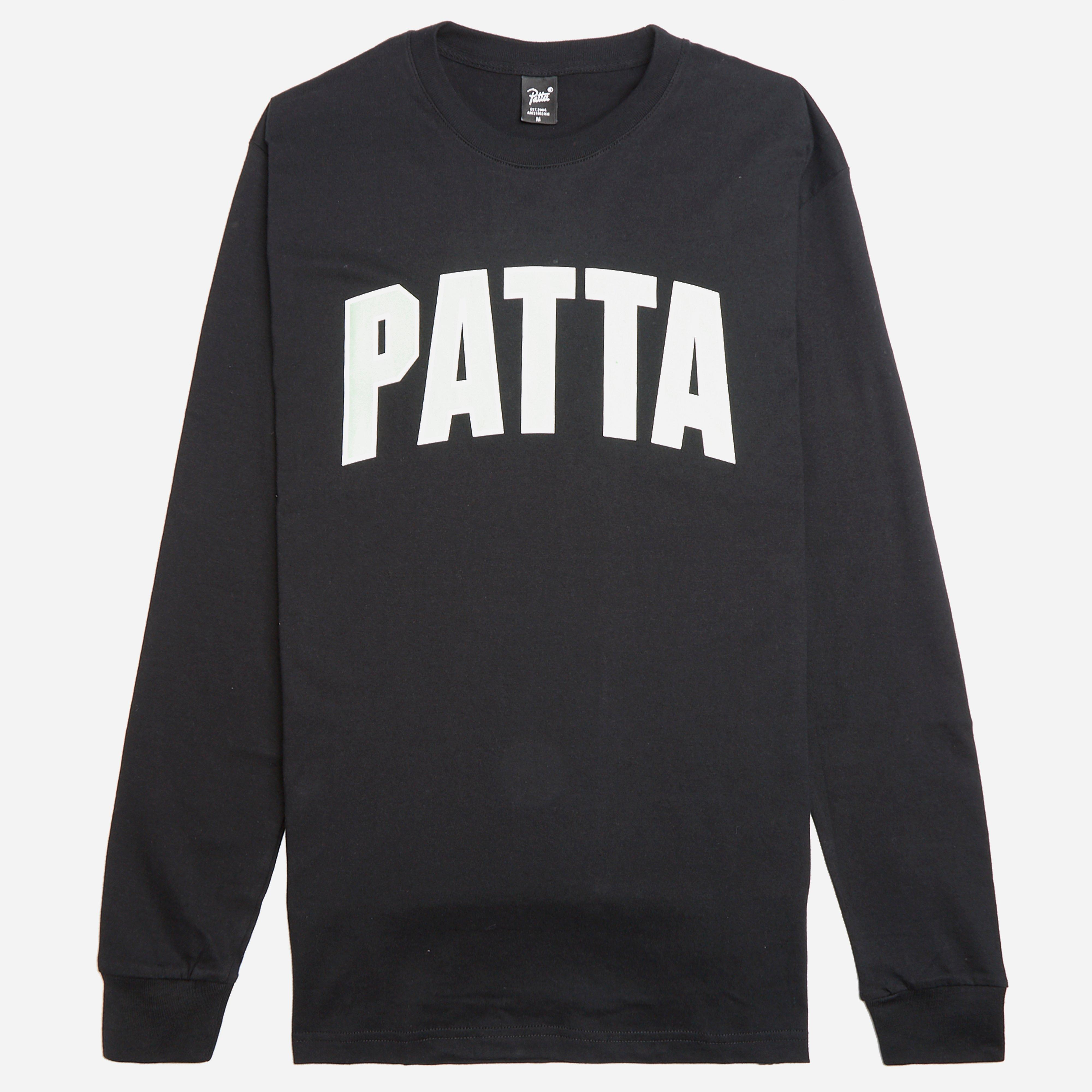 Patta Curve Logo Long Sleeve T-shirt