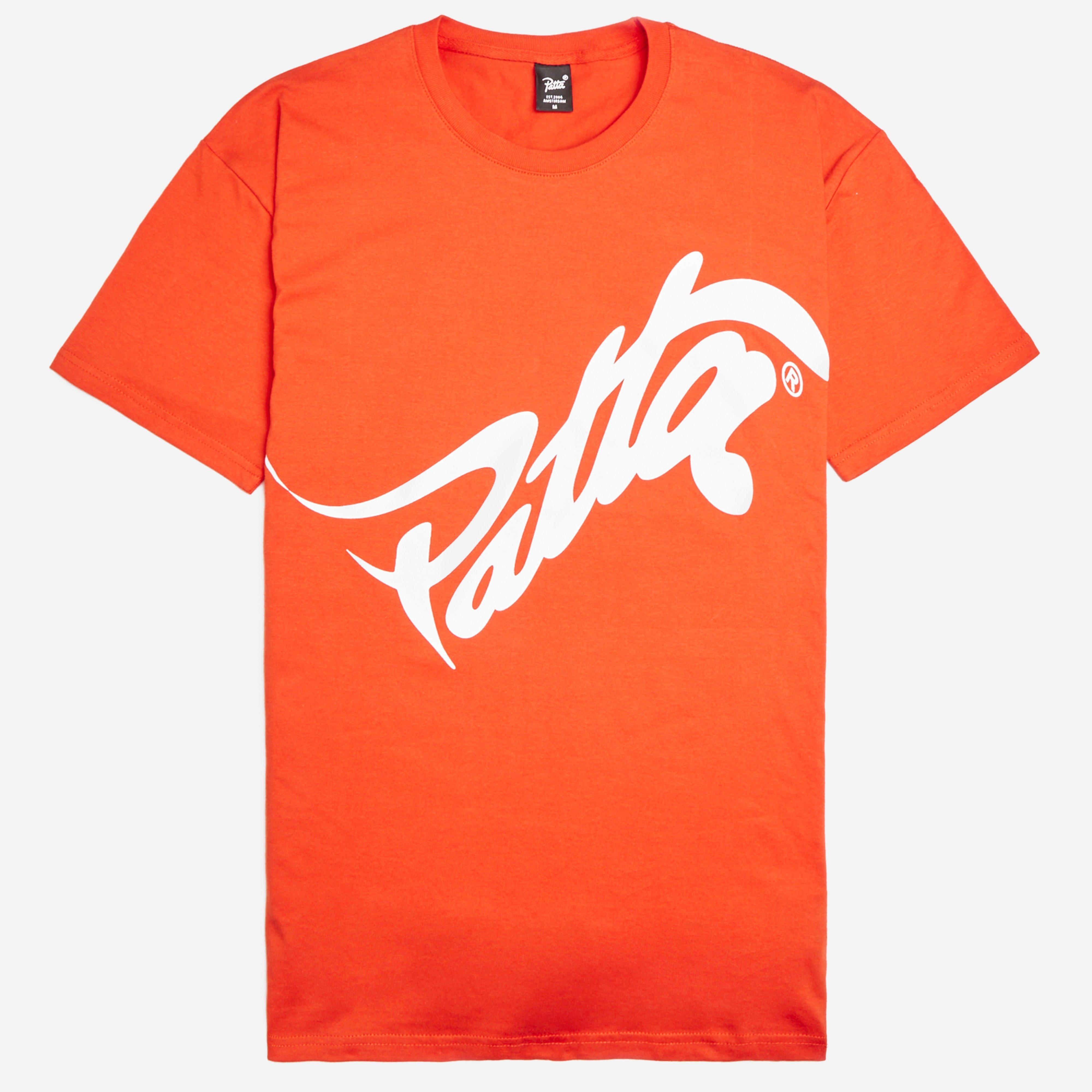 Patta Wavey Script Logo T-shirt