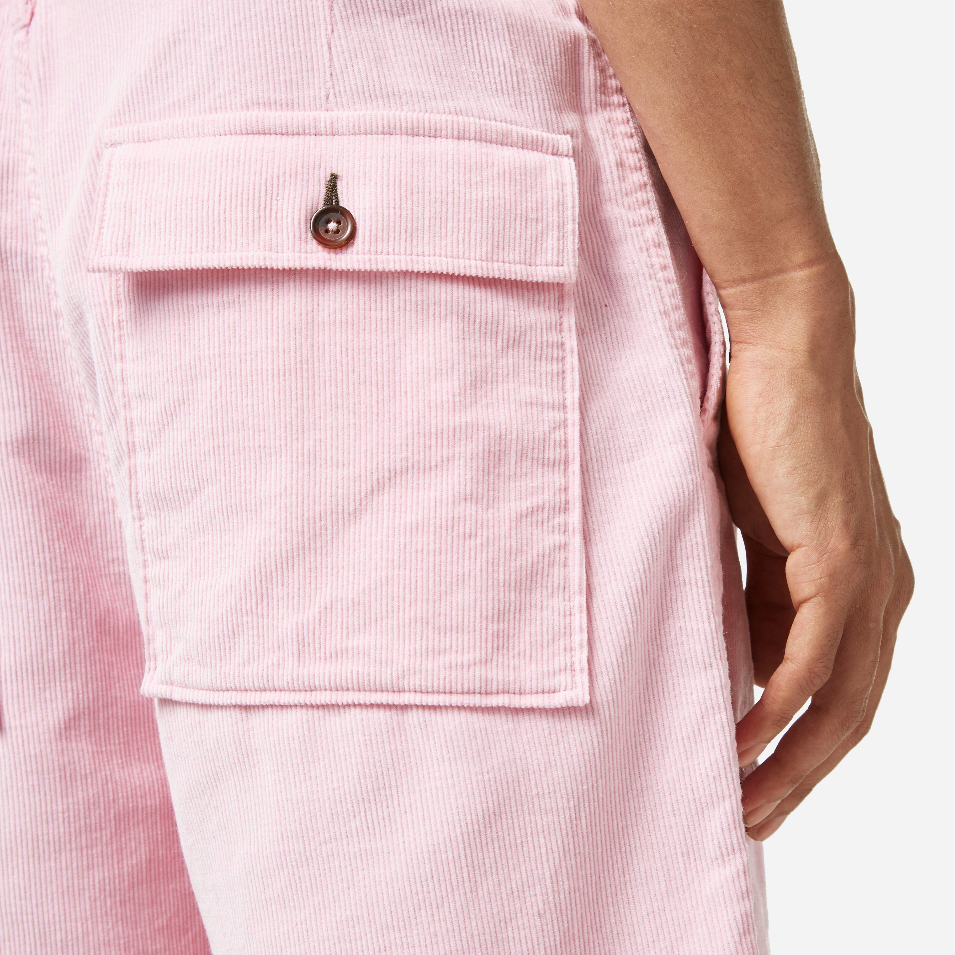 Universal Works x The Hip Store Cord Fatigue Shorts