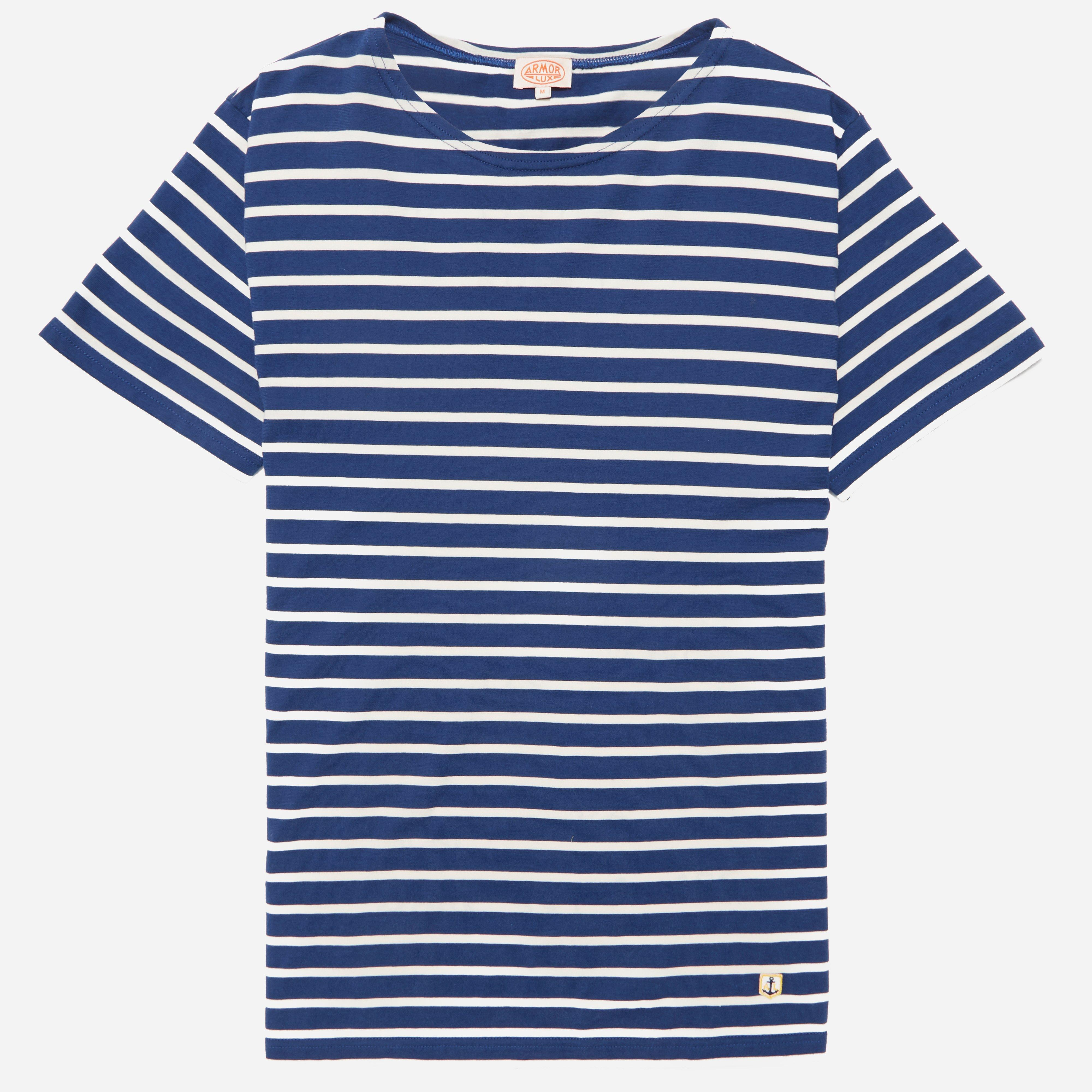 Armor Lux 73842 Classic Short Sleeve T-shirt