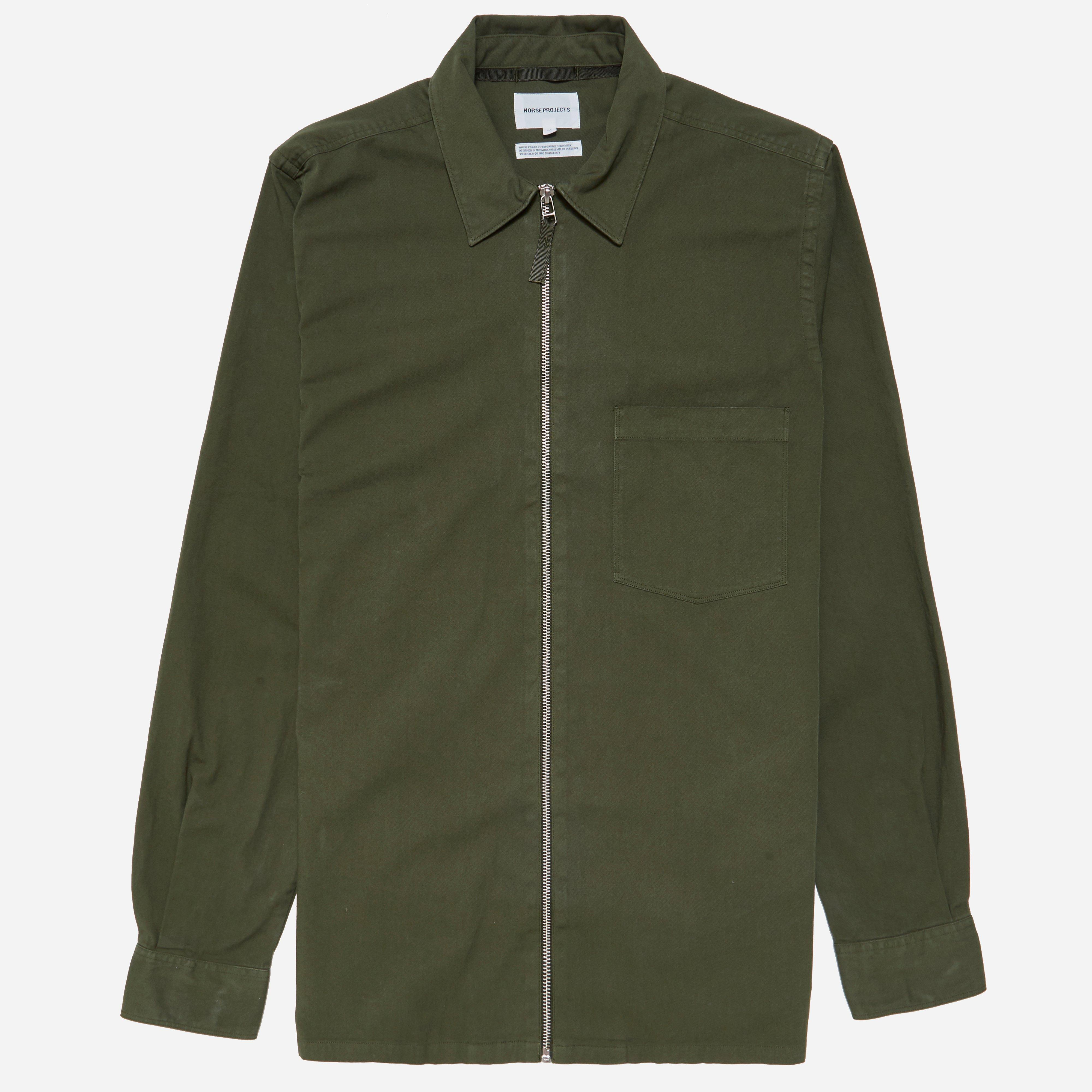 Norse Projects Jens Garment Dyed Twill Jacket