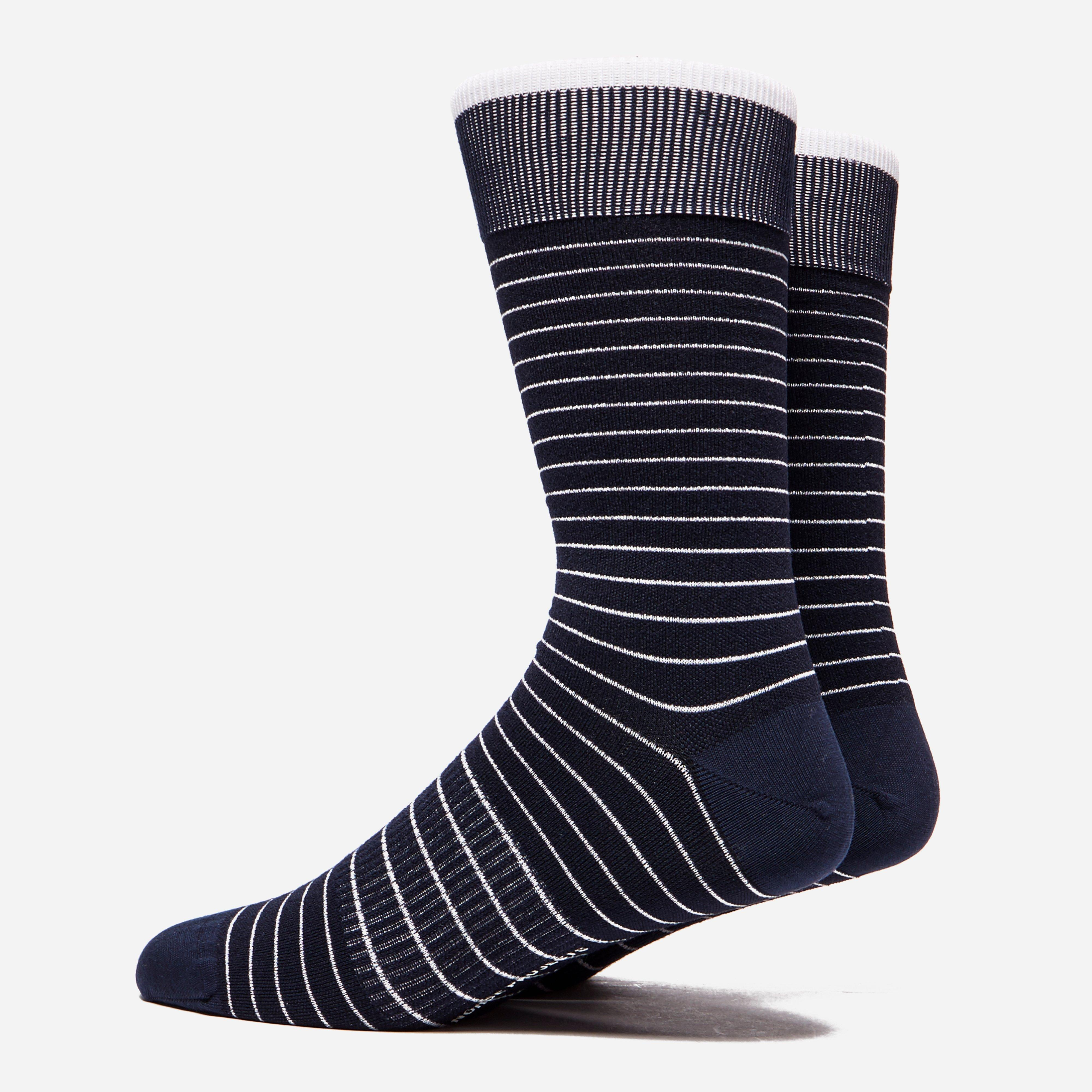 Norse Projects Bjarki Fine Stripe Socks