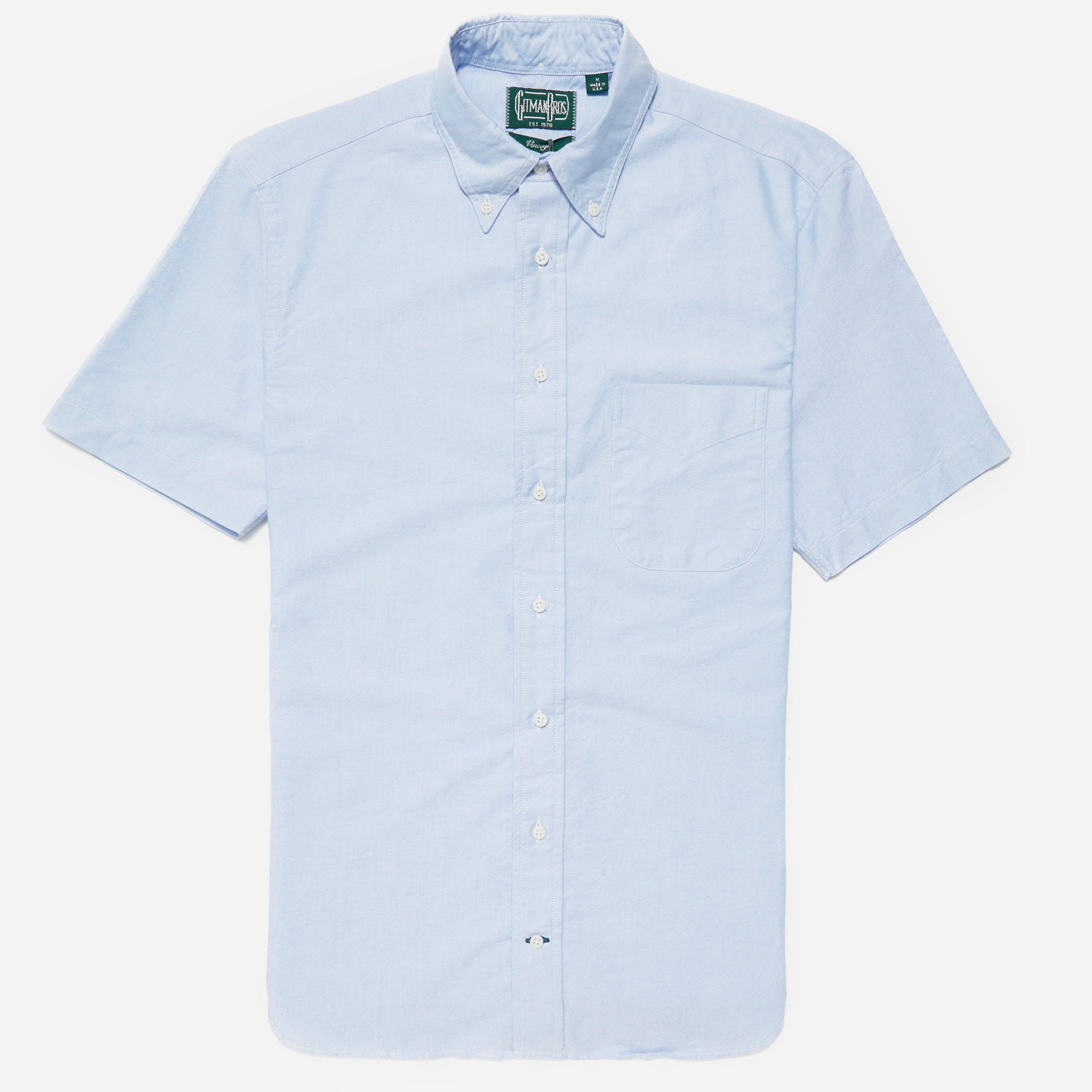 Gitman Vintage Short Sleeve Oxford BD Shirt