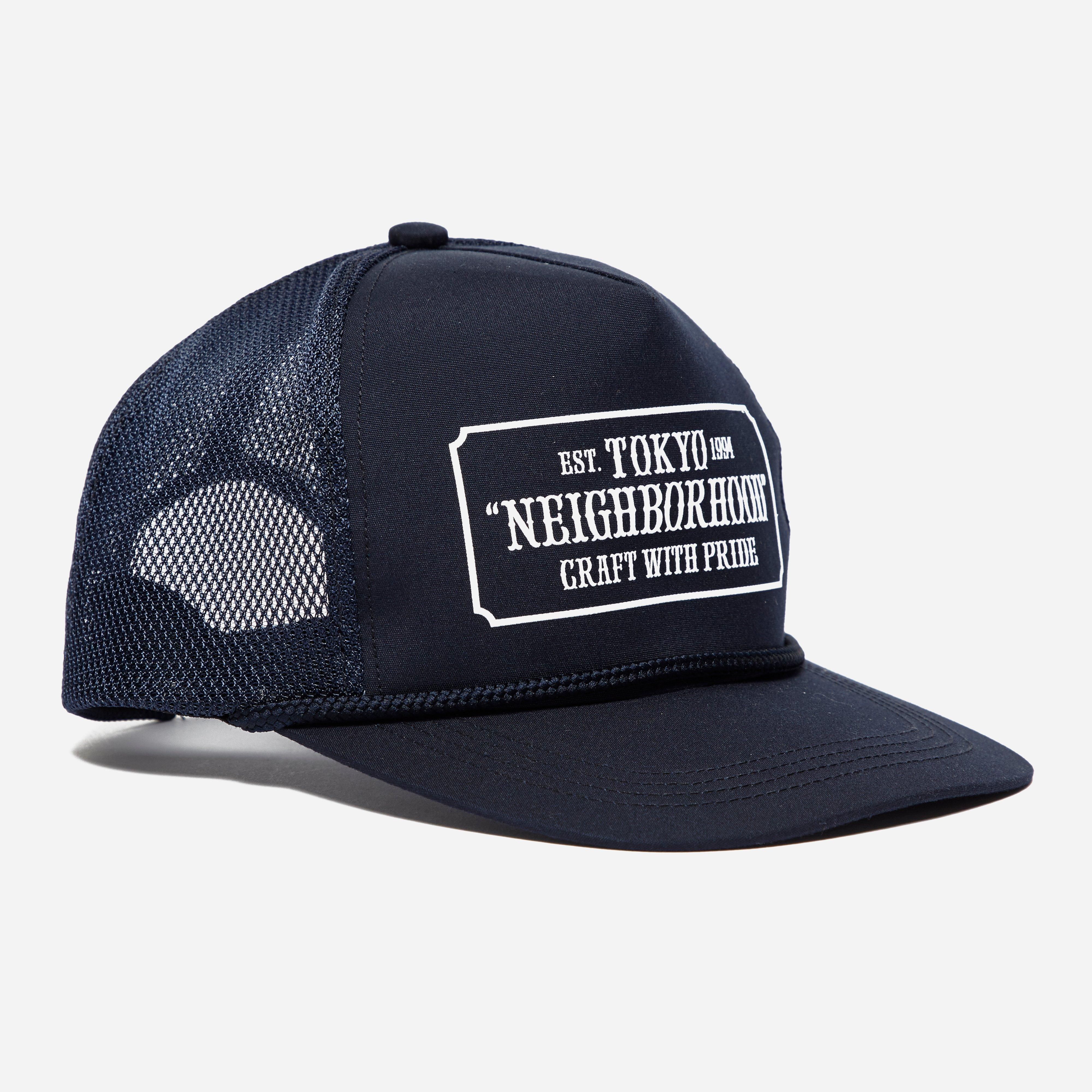 Neighborhood Bar + Shield Trucker Cap