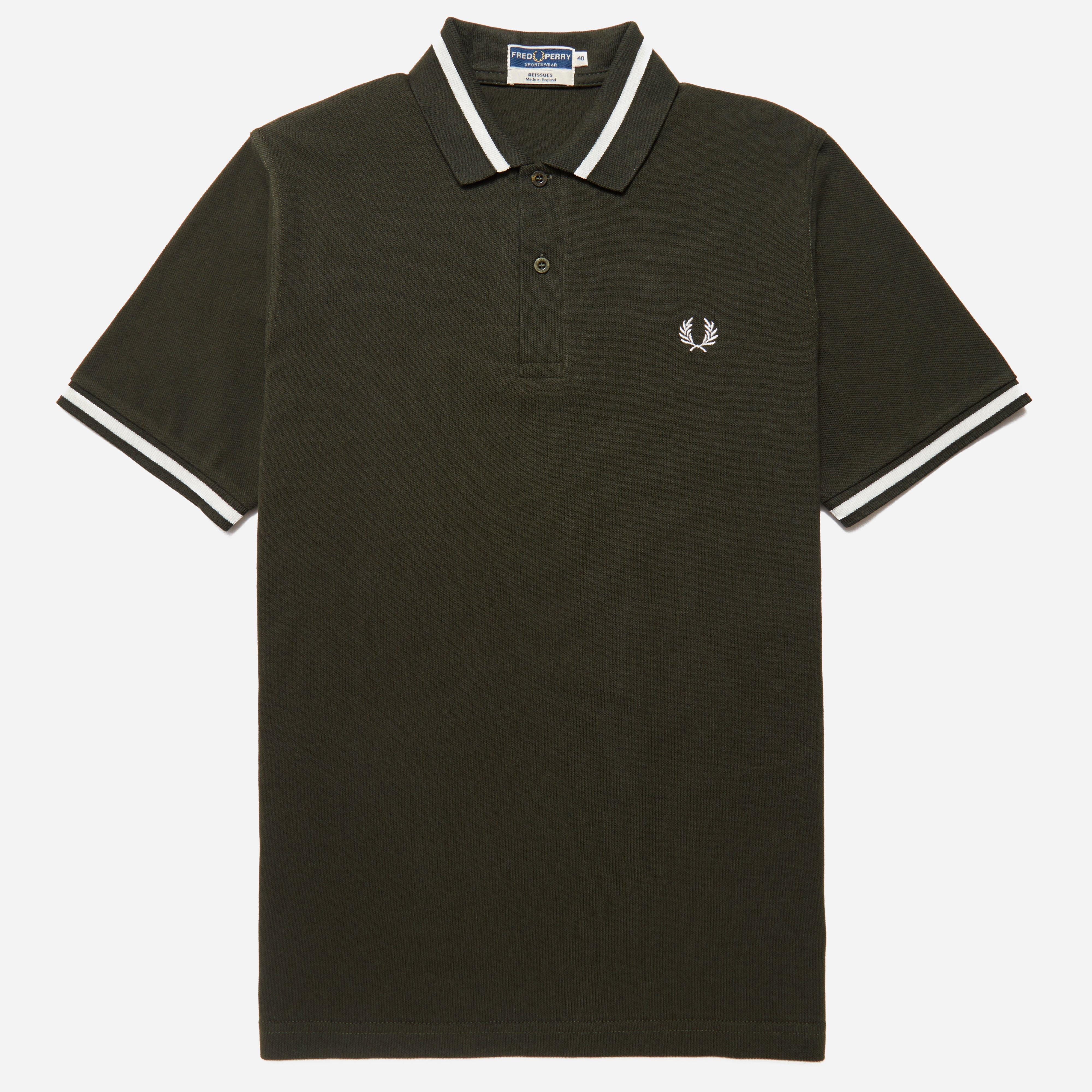 Fred Perry Reissues Single Tipped Polo