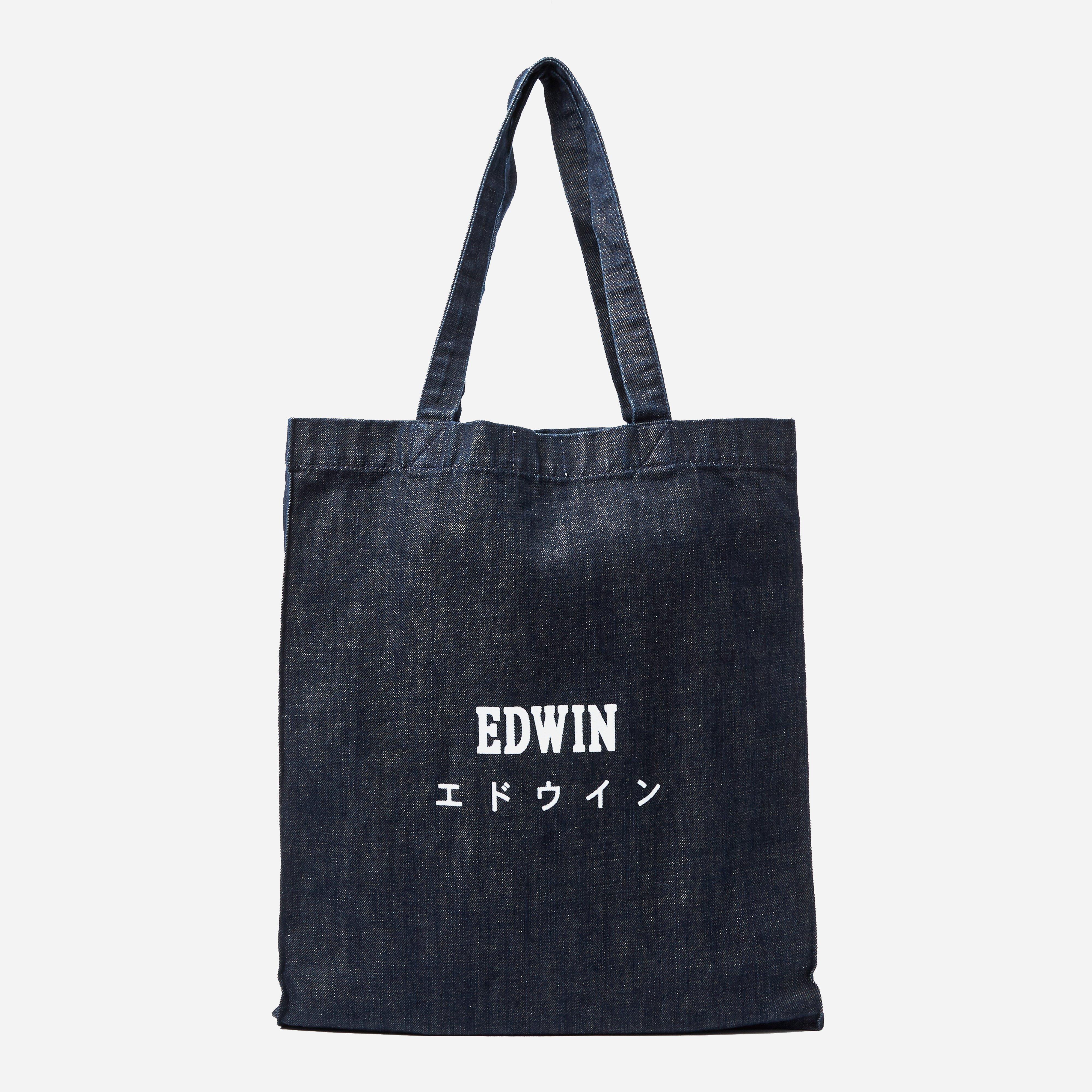 Edwin Tokyo Blues Granite Denim Tote Bag