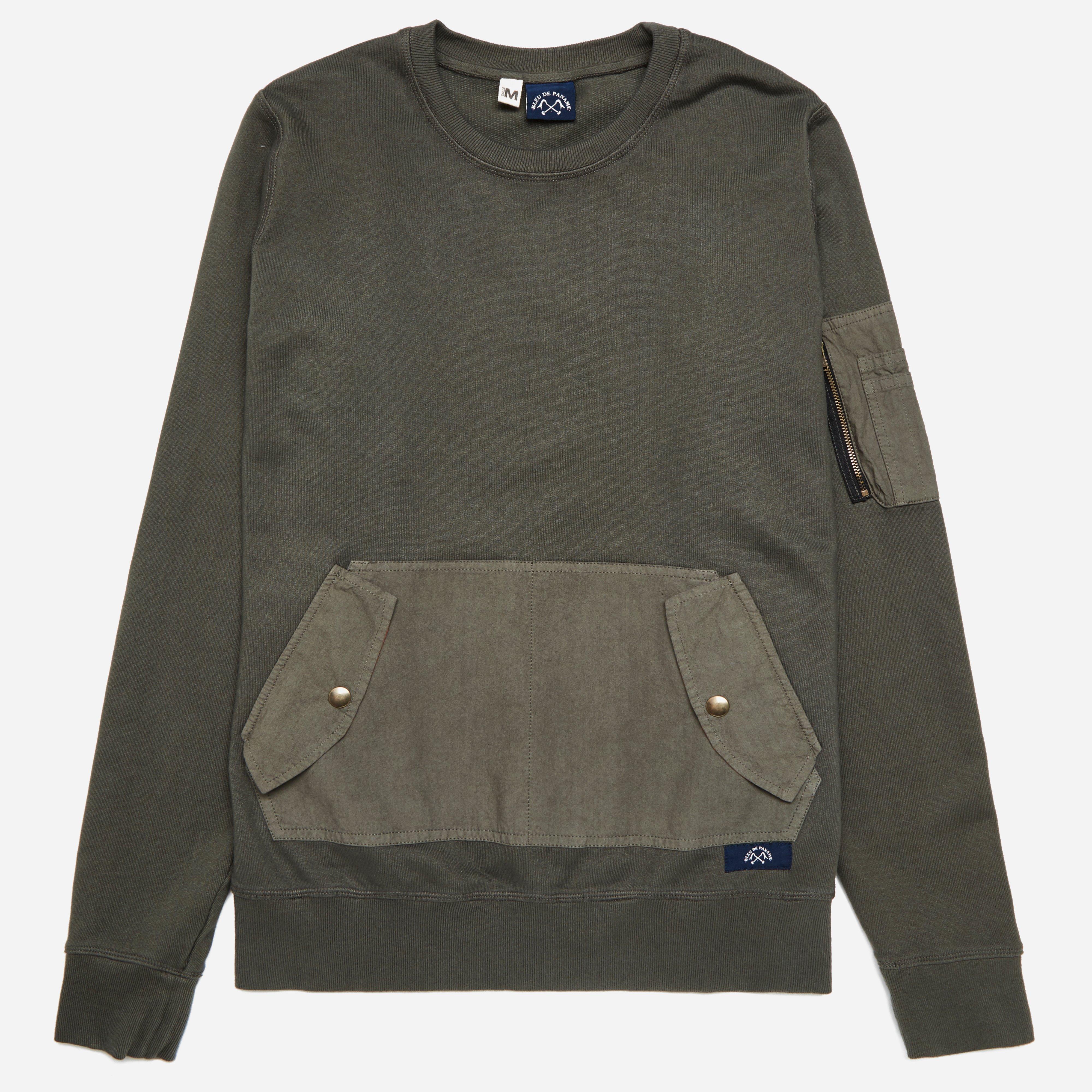 Bleu De Paname Compat Sweatshirt