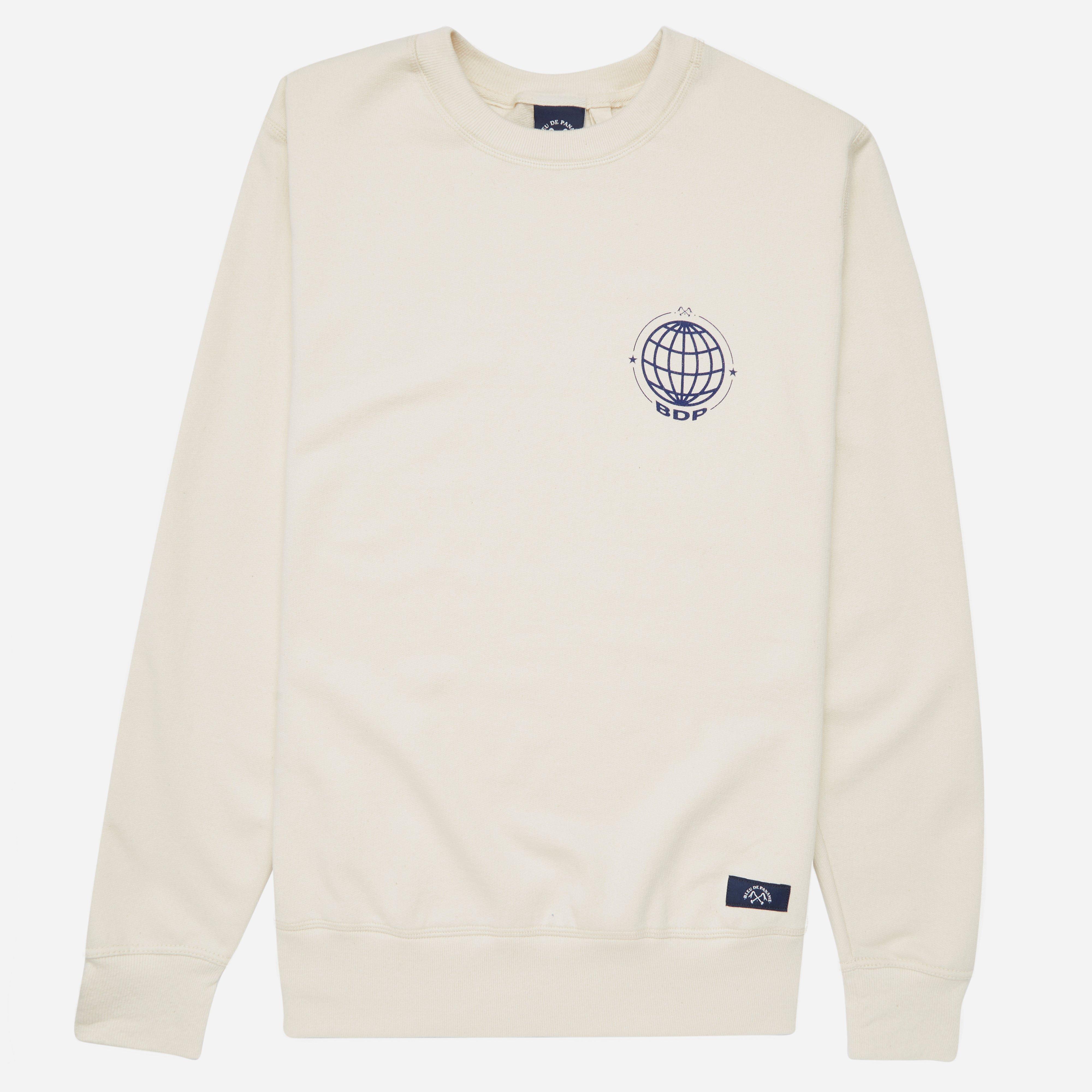 Bleu De Paname Globe Sweatshirt