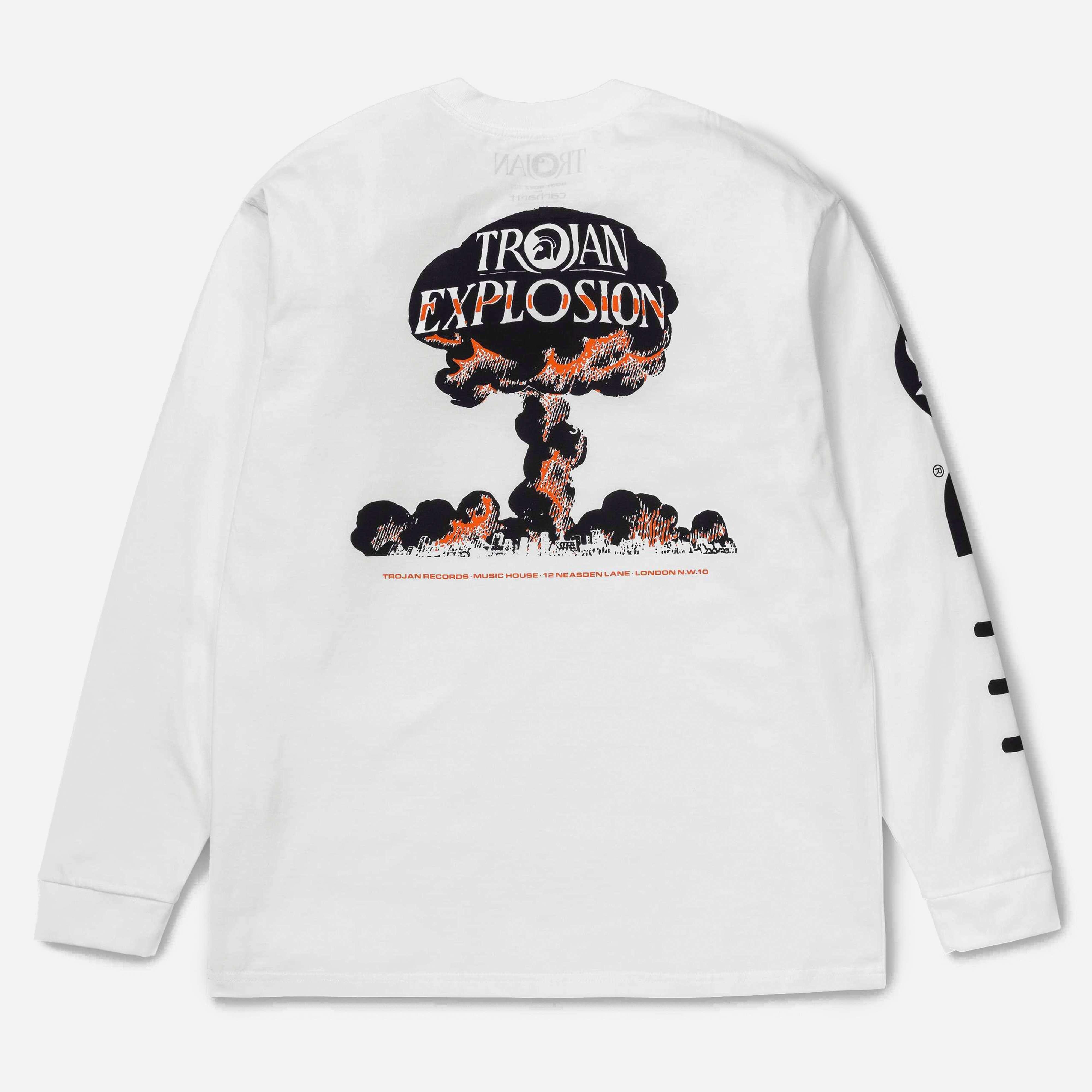 Carhartt WIP x Trojan Records LS Trojan Explosion T-shirt