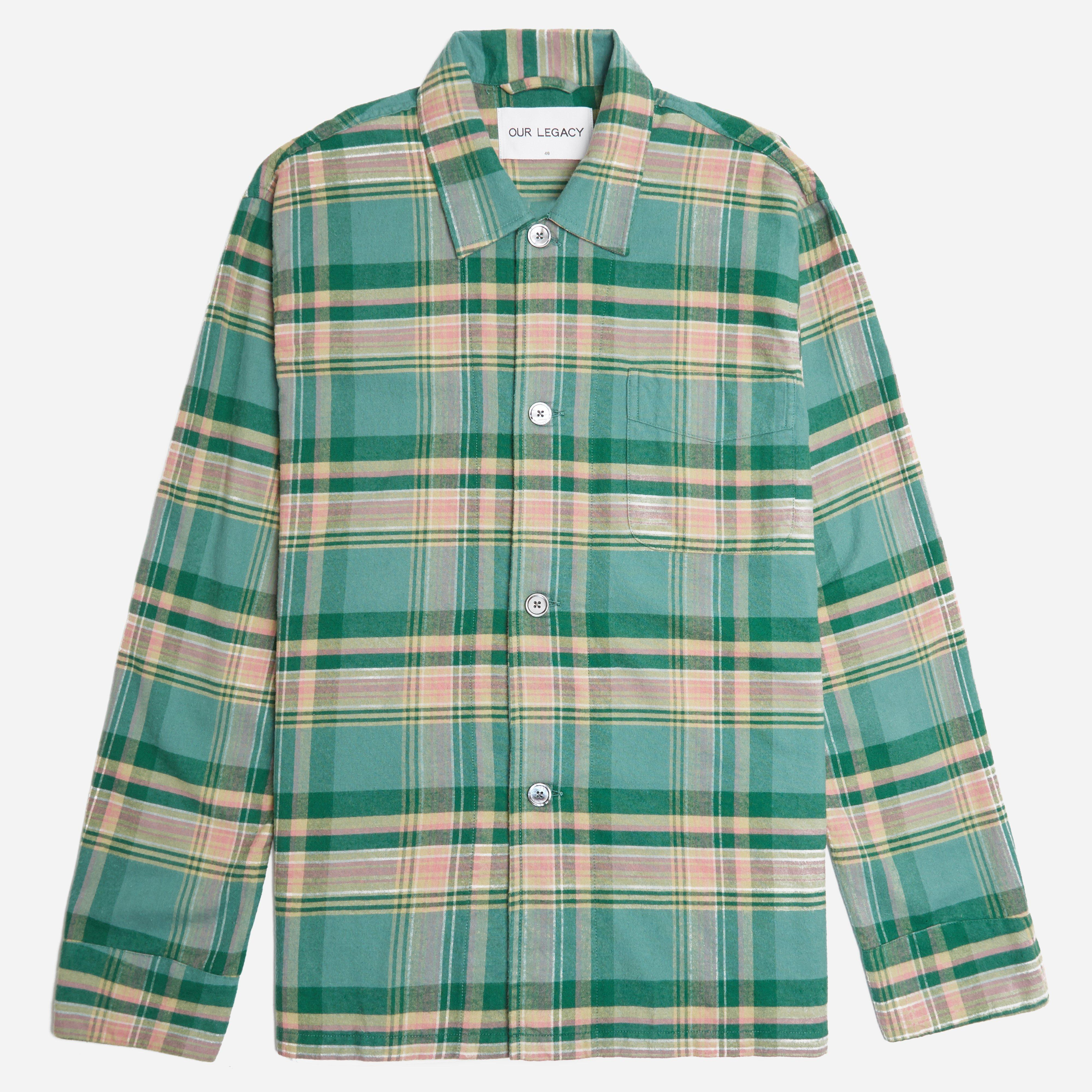 Our Legacy Check Flannel Box Shirt