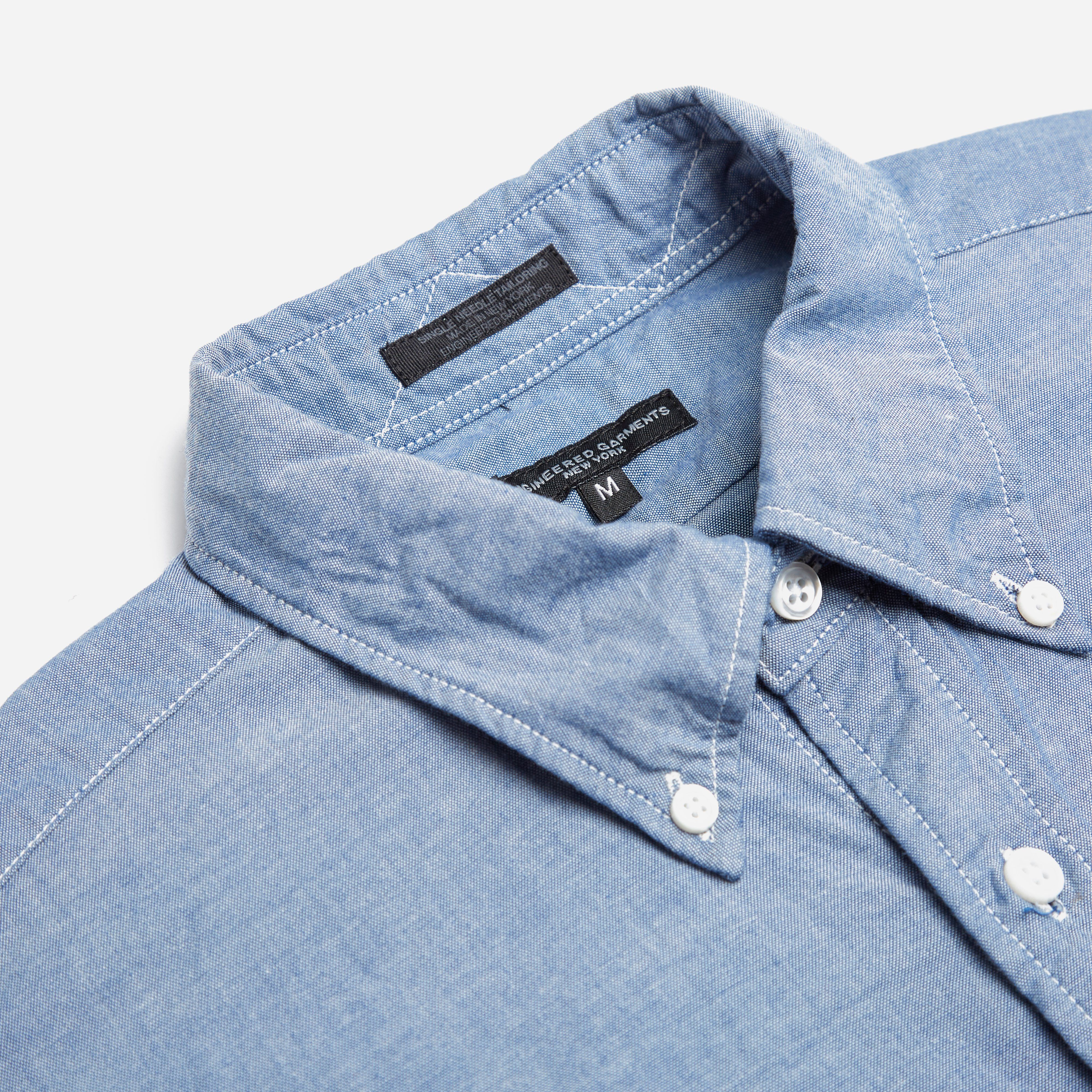 Engineered Garments 19th Century BD Shirt - Cotton Chambray