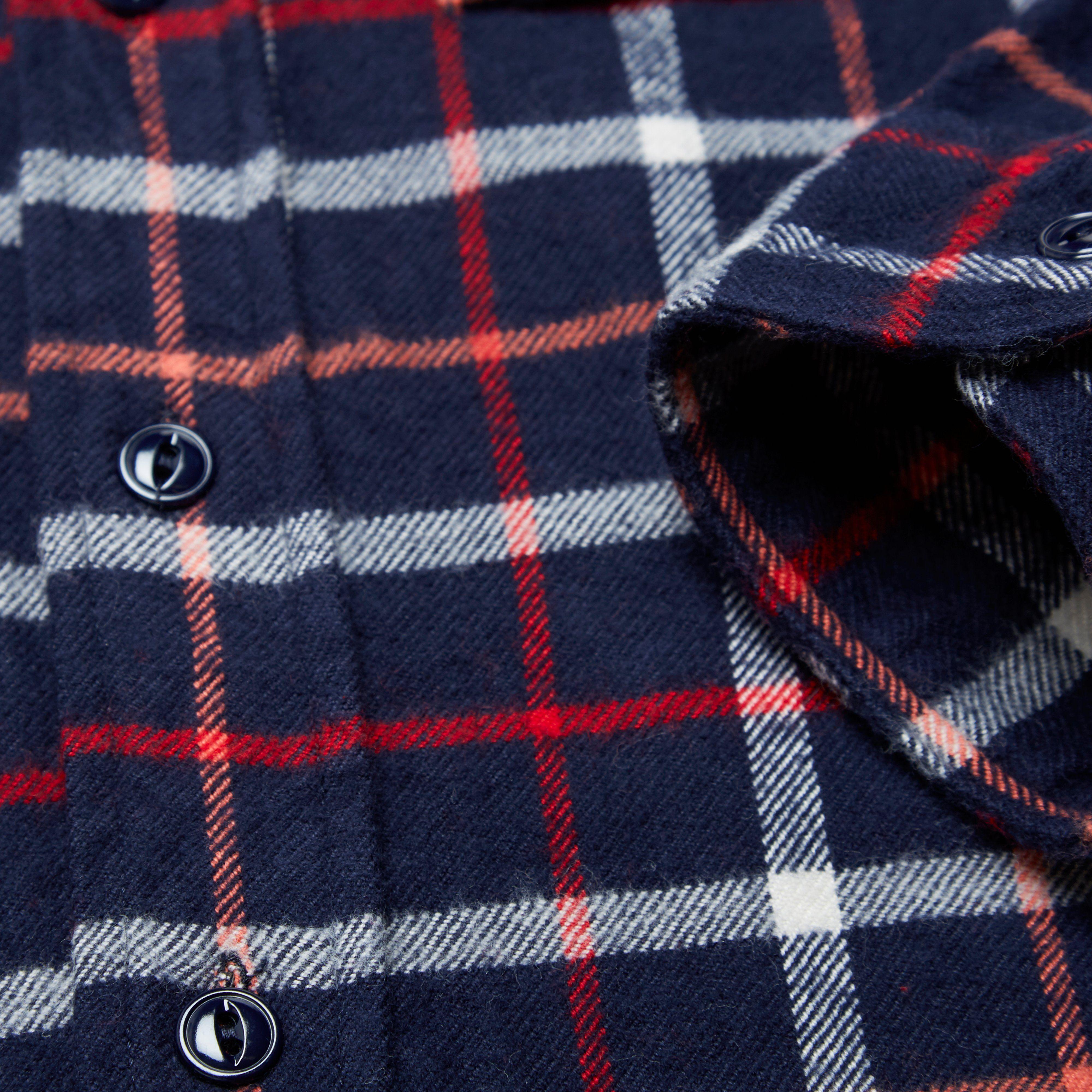 Engineered Garments Work Shirt - Plaid Flannel