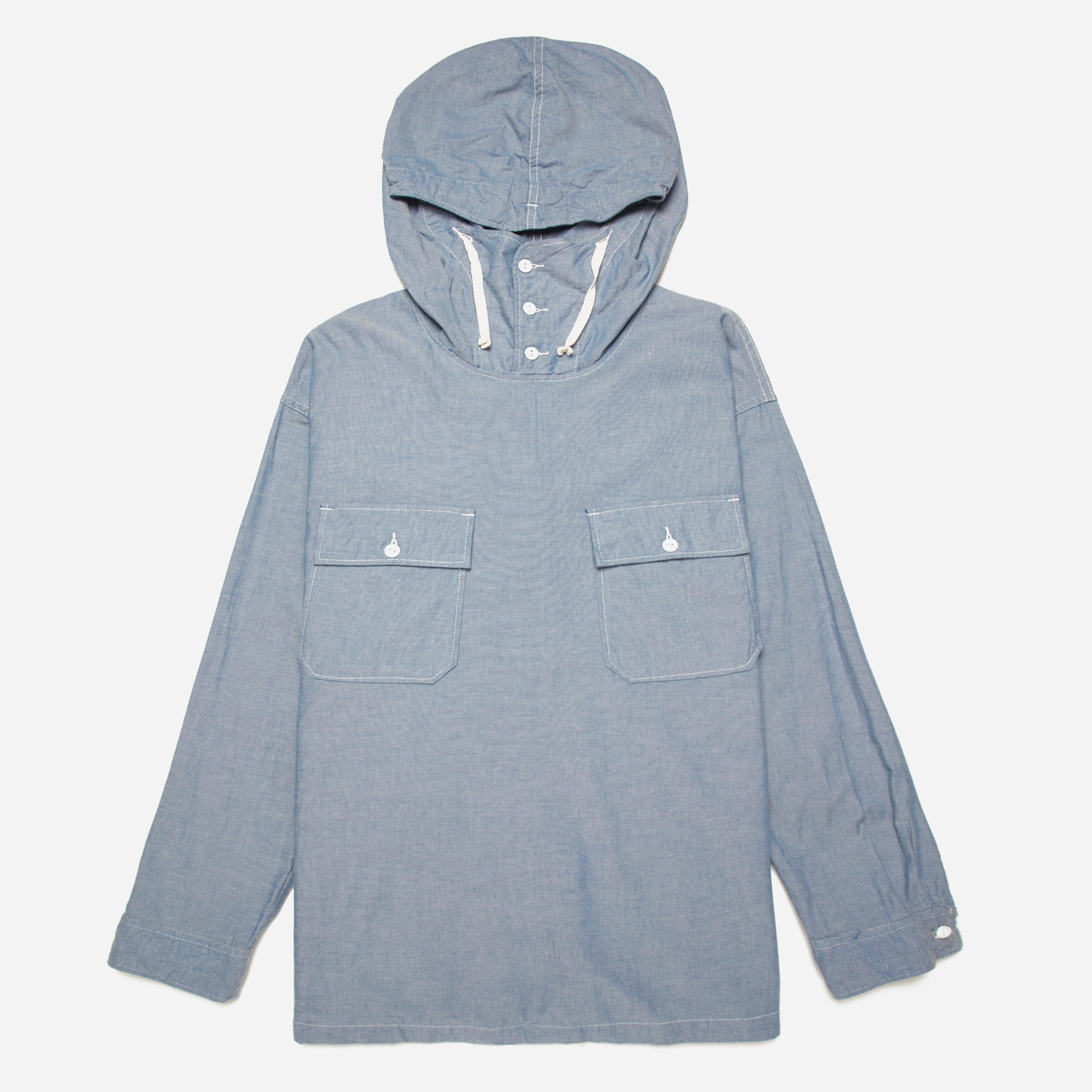 Engineered Garments Cagoule Shirt - Cotton Chambray