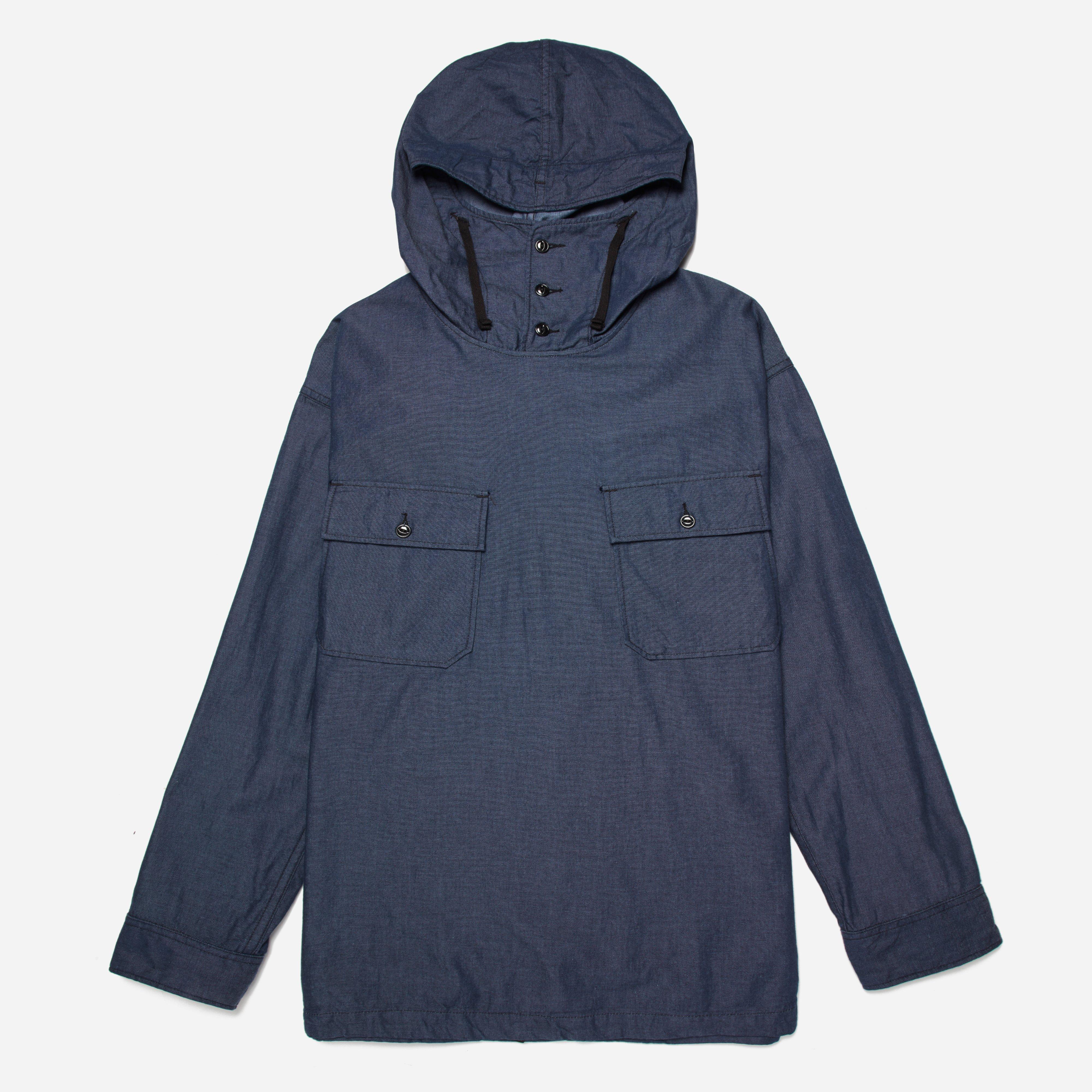 Engineered Garments Cagoule Shirt - Light Weight Denim