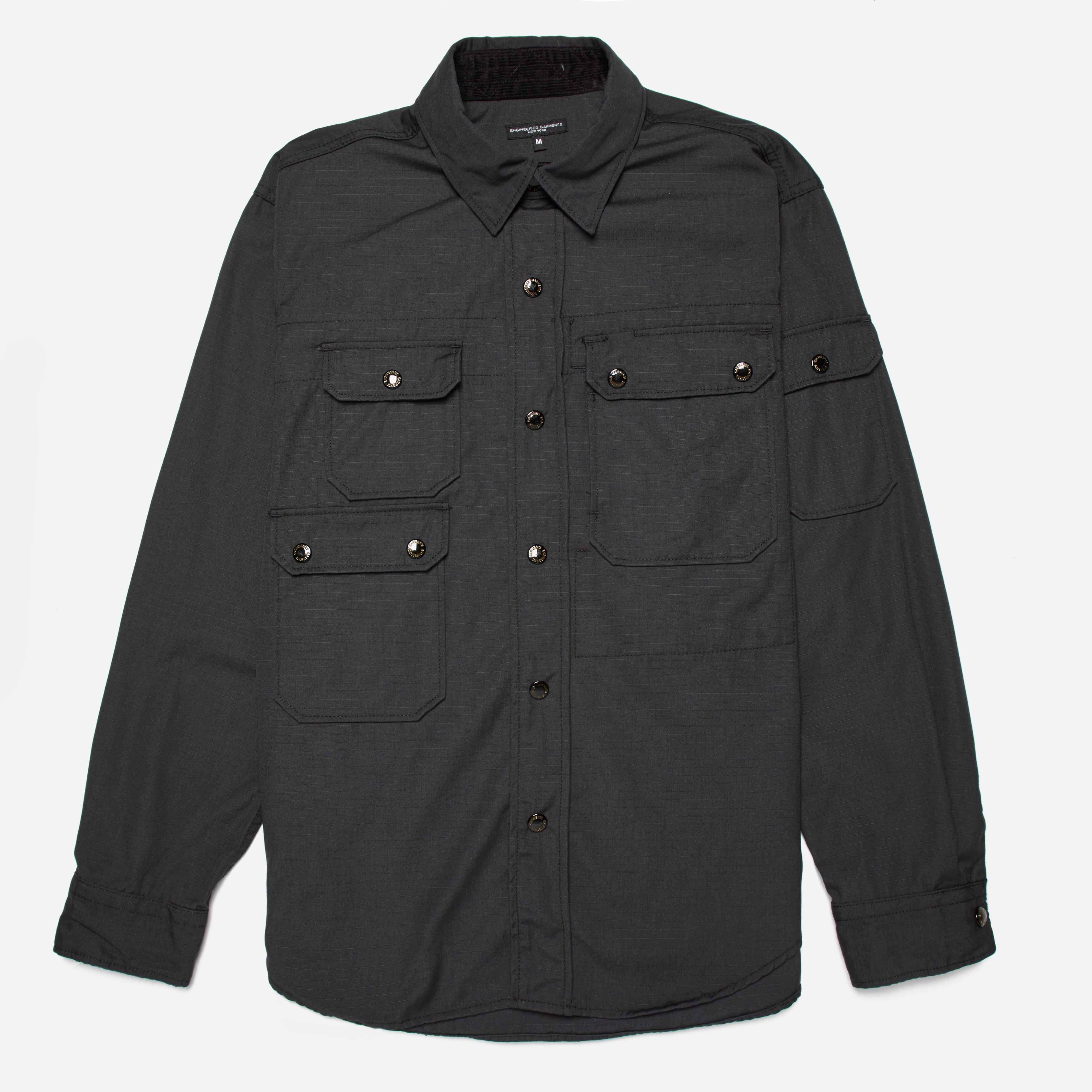 Engineered Garments CPO Shirt - Nyco Ripstop