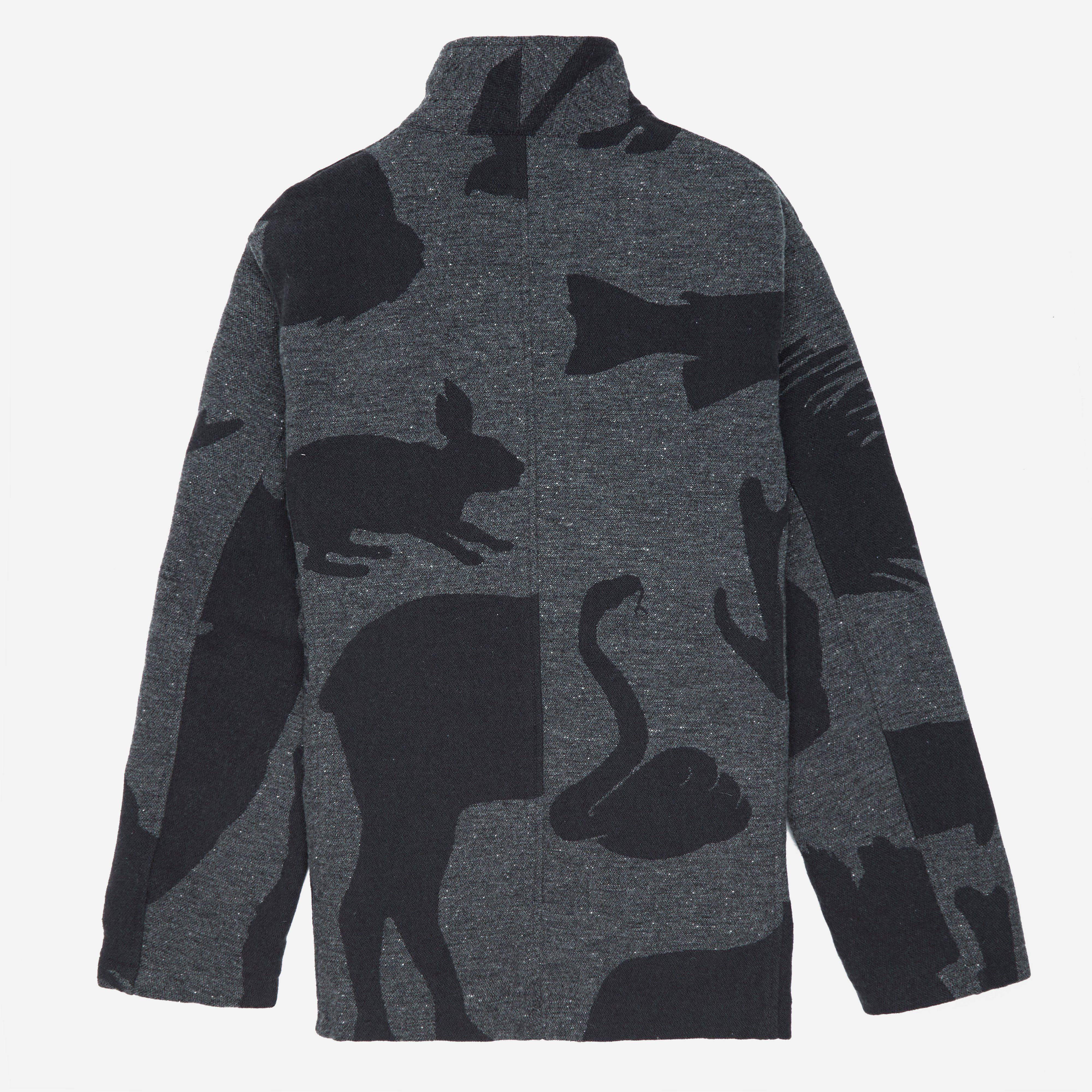 Engineered Garments Bedford Jacket - Animal Wool Jacquard