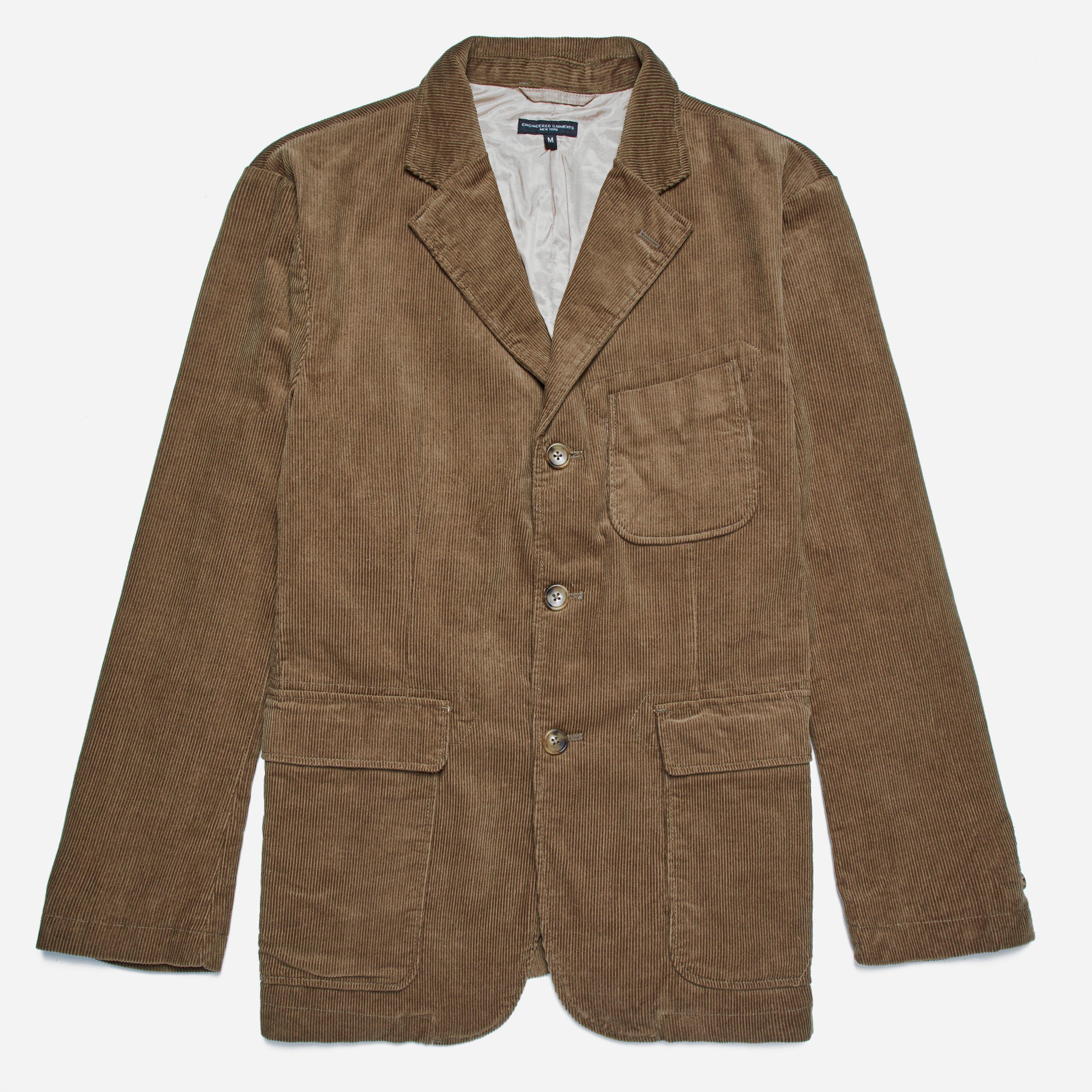 Engineered Garments Baker Jacket - 11W Corduroy