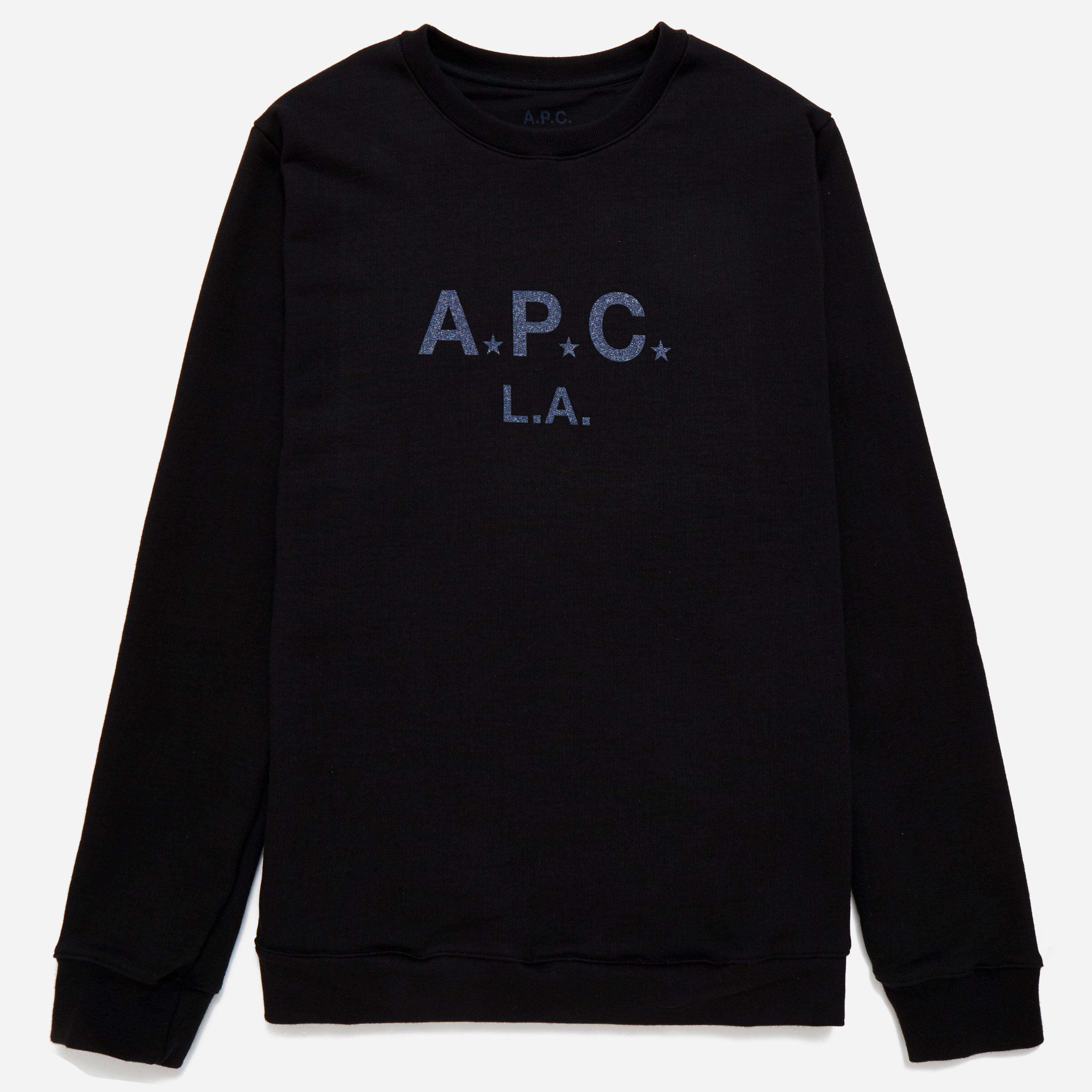 A.P.C Logo LA Sweatshirt