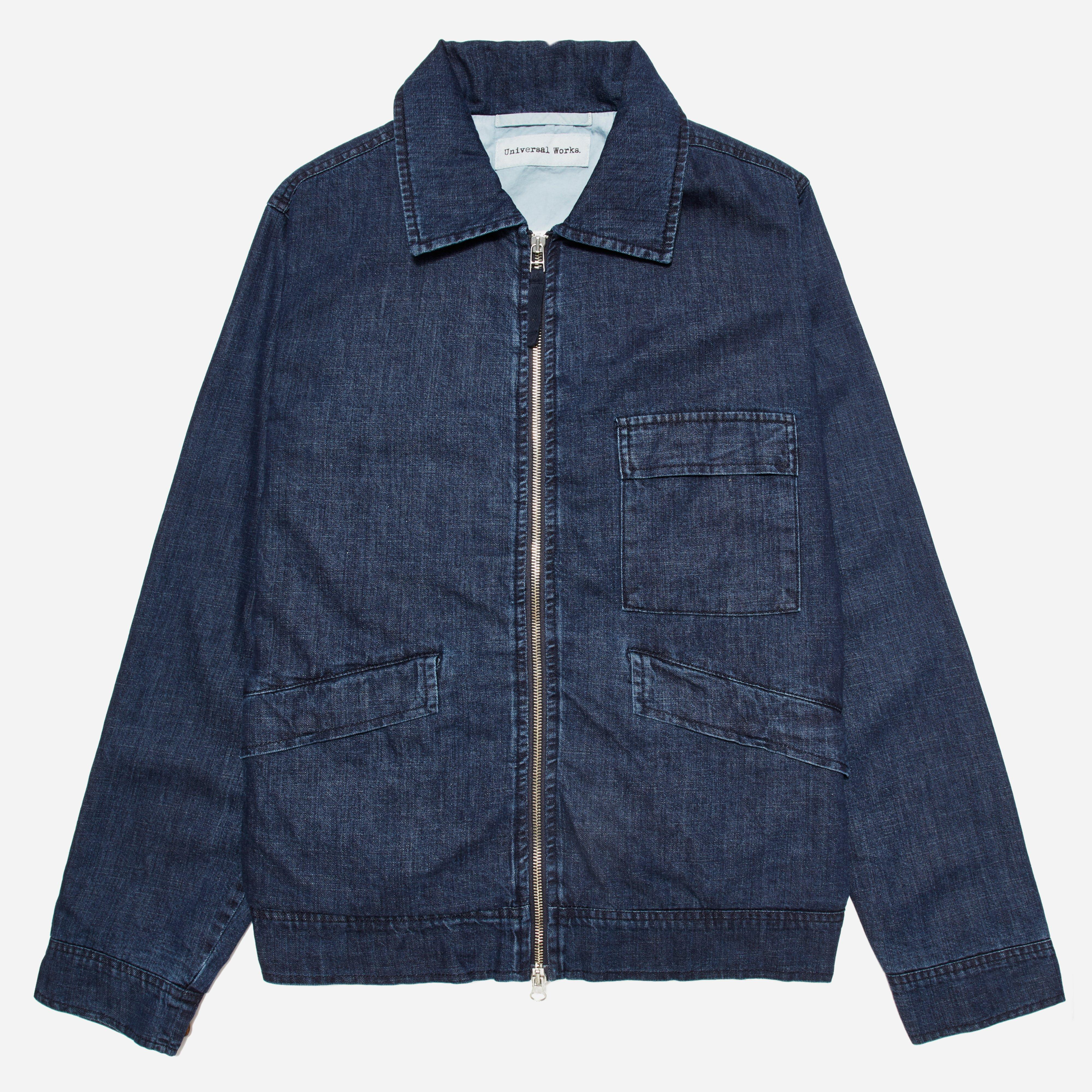 Universal Works Fall Denim Battle Jacket