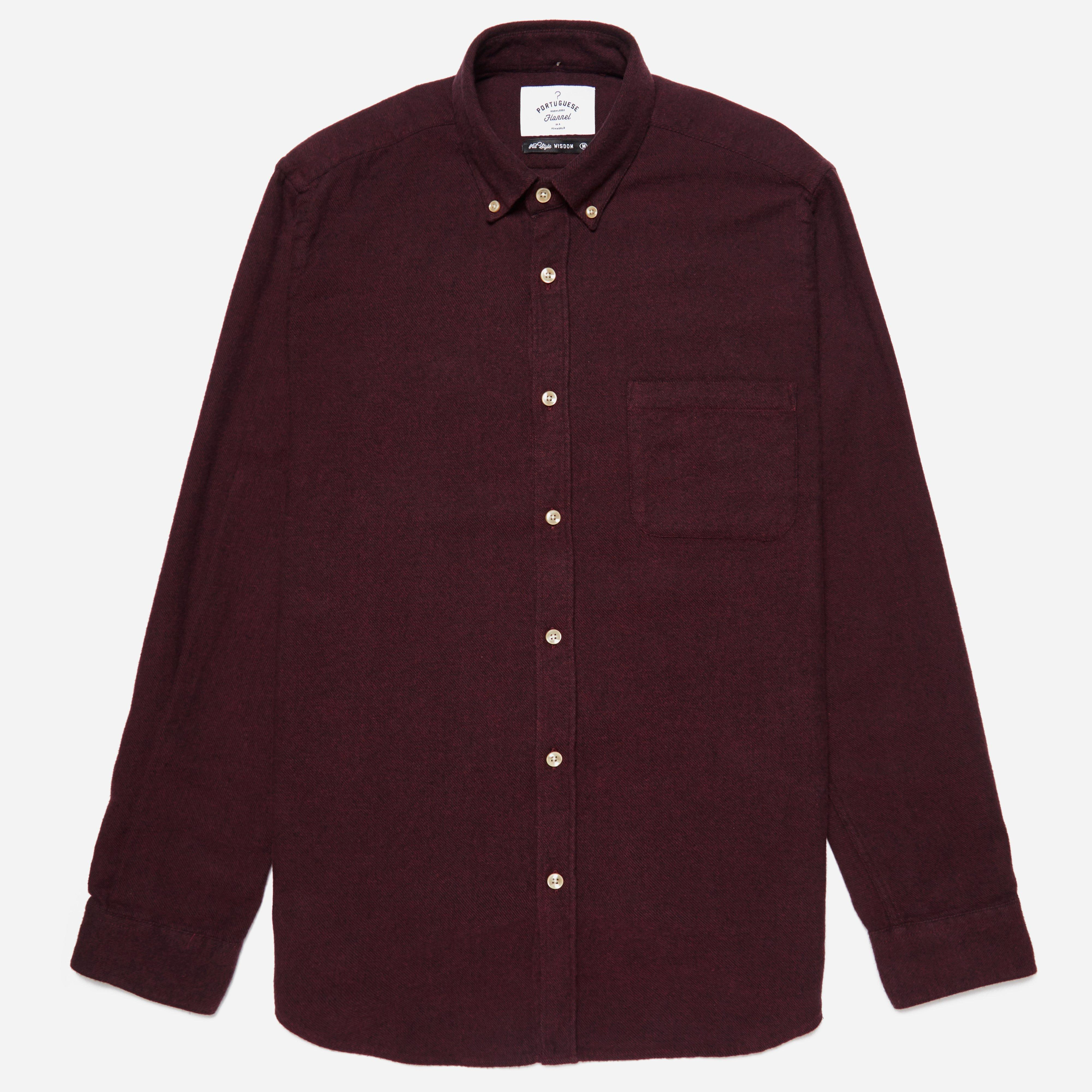 Portuguese Flannel Flannel Button Down Shirt