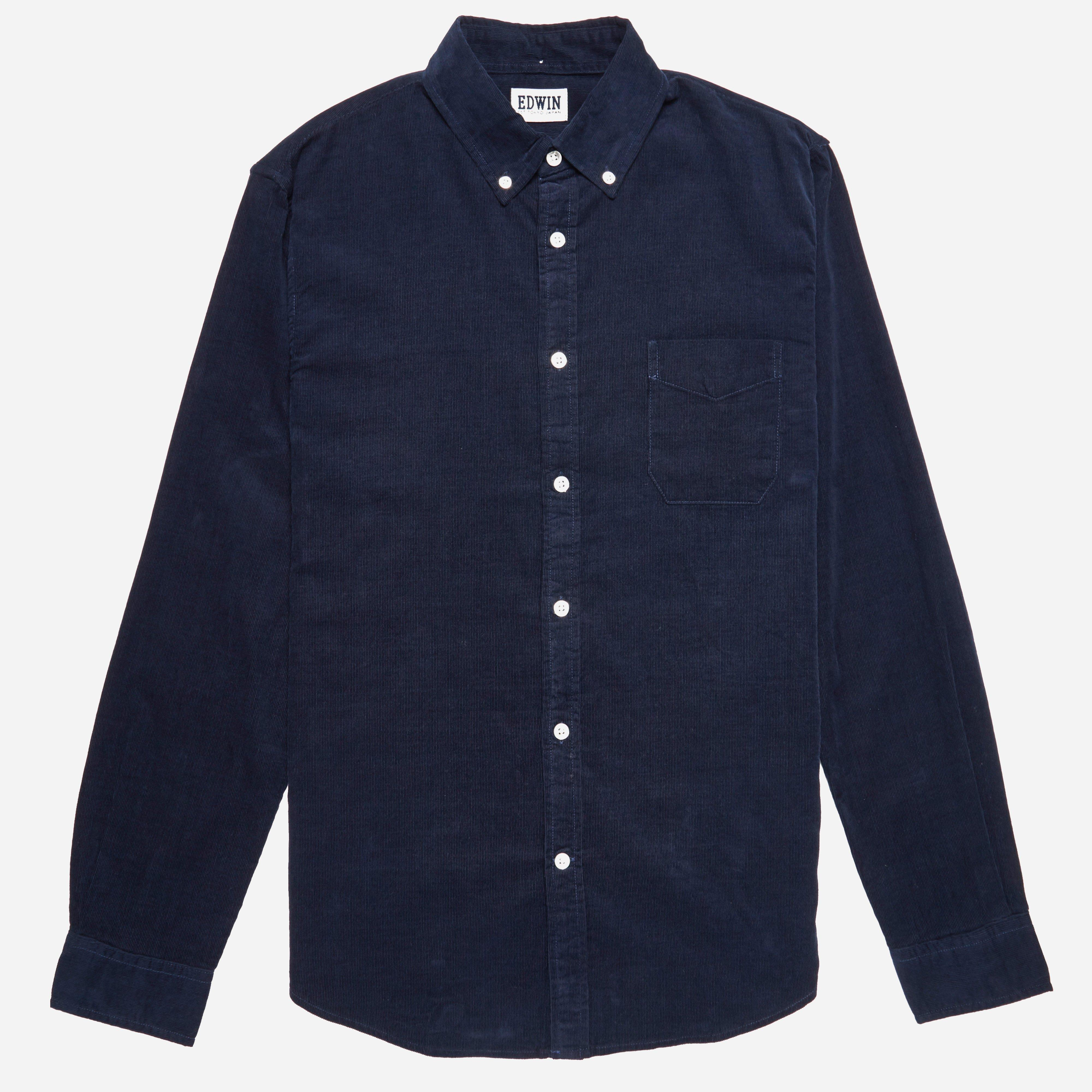 Edwin Babycord Standard Shirt