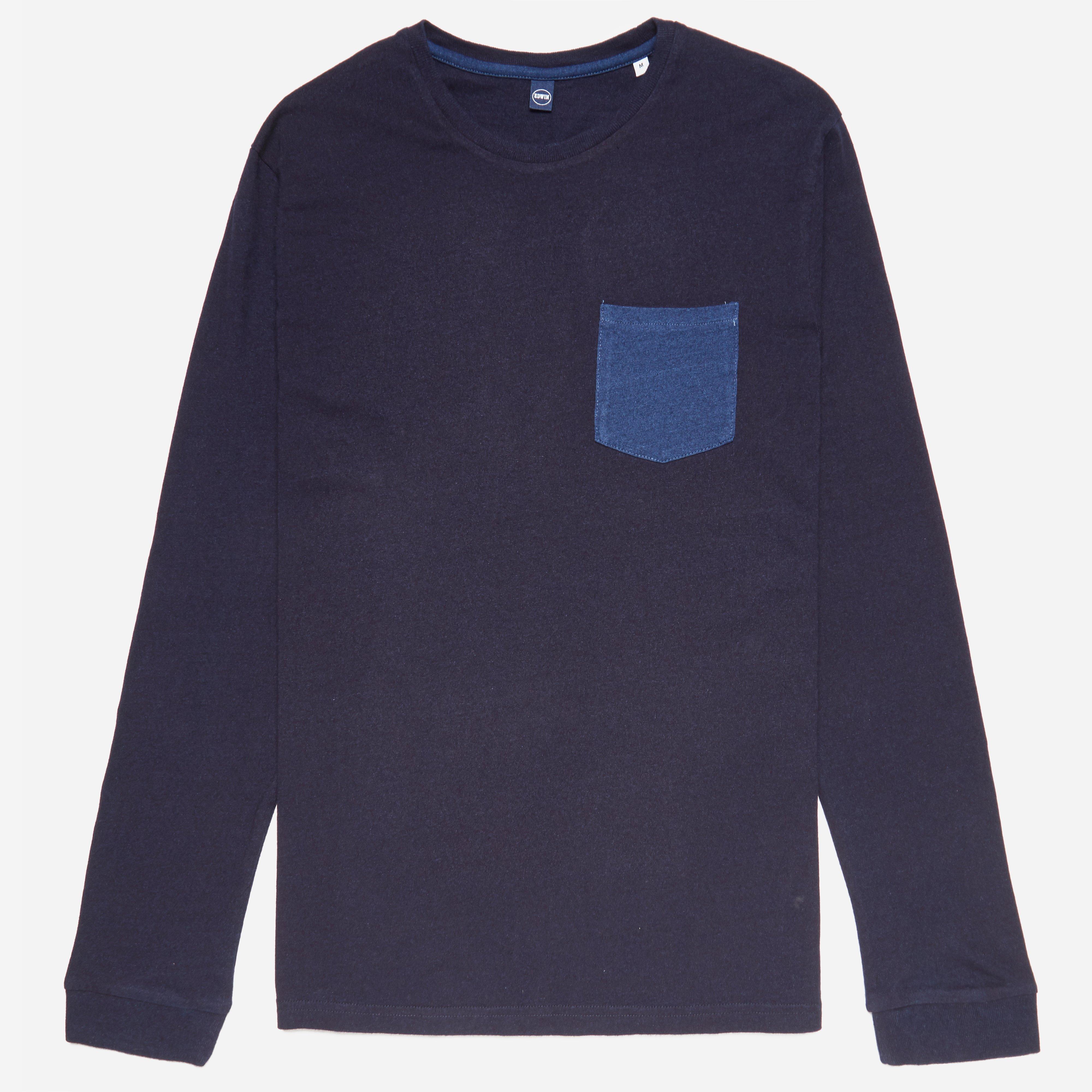 Edwin Long Sleeve Pocket T-shirt