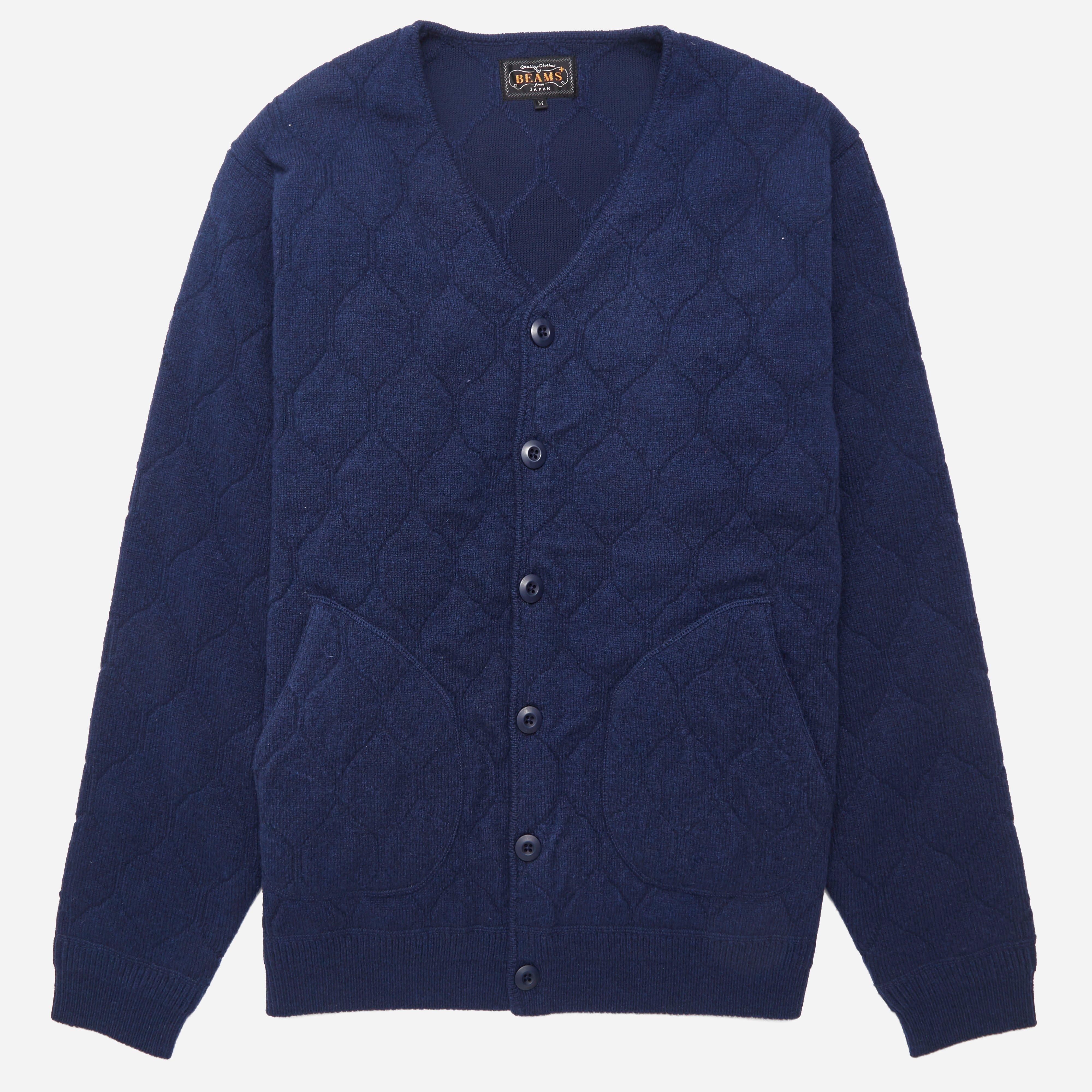 Beams Plus Jacquard Cardigan