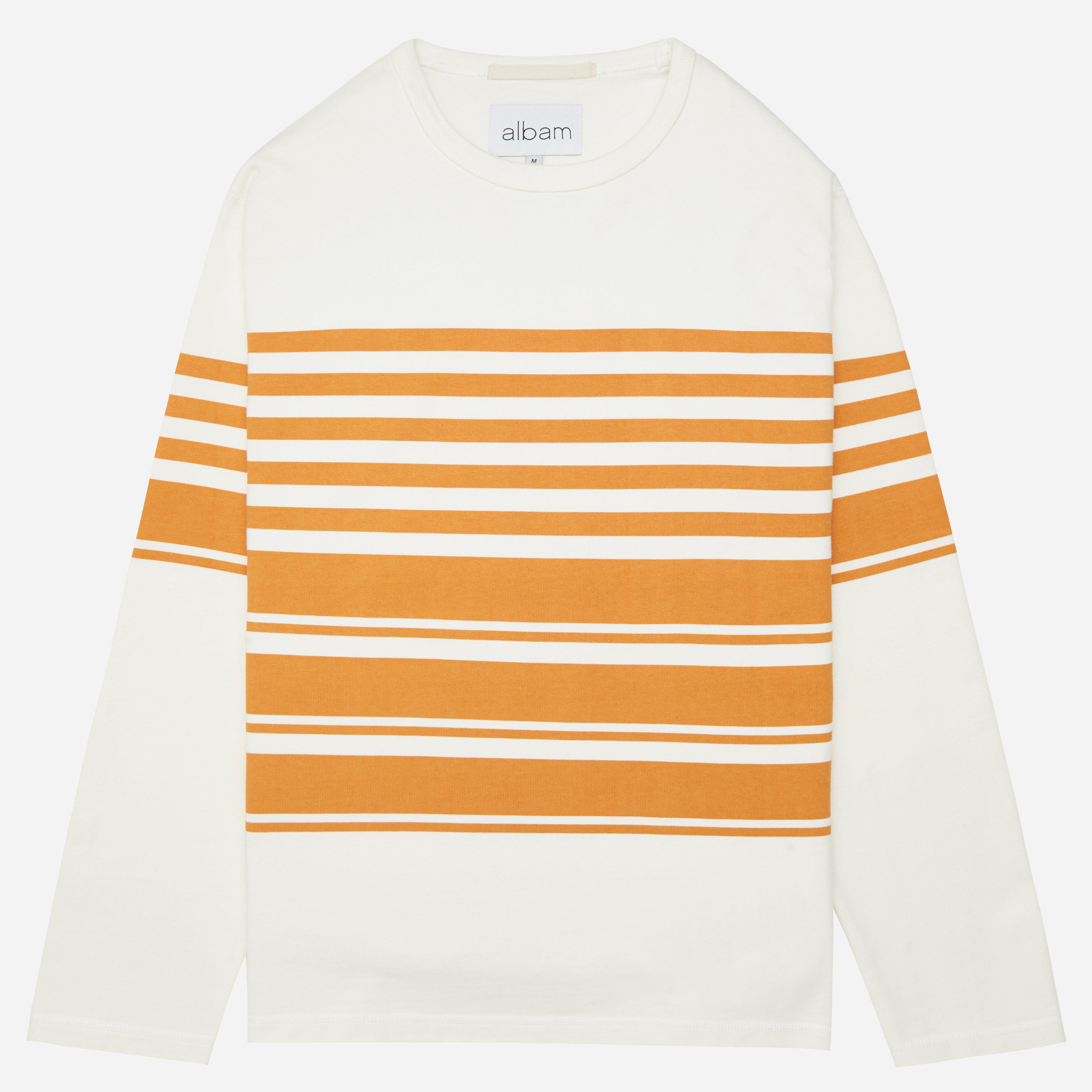 Albam Striped Mid Weight Sweat
