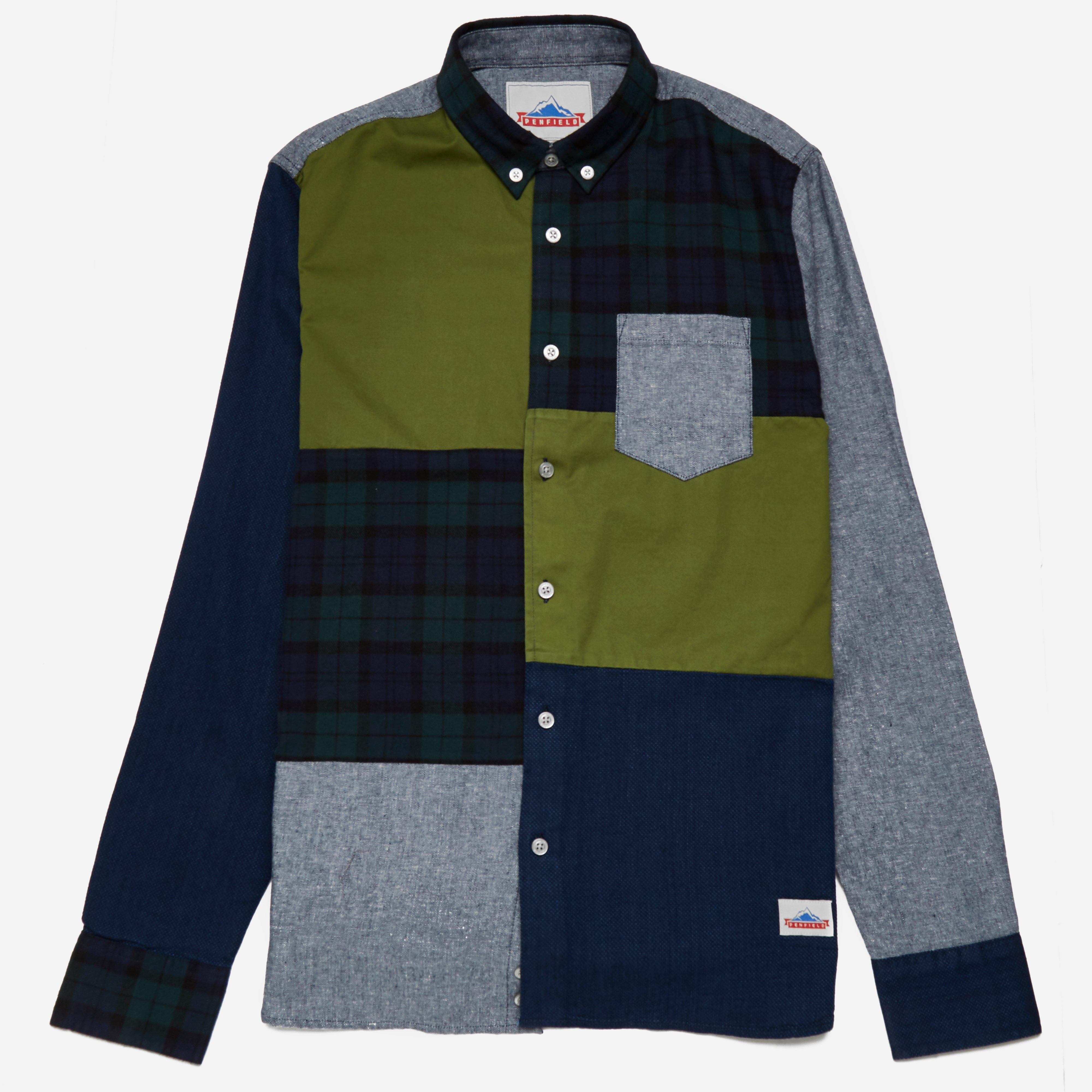 Penfield Crowley Patchwork Shirt