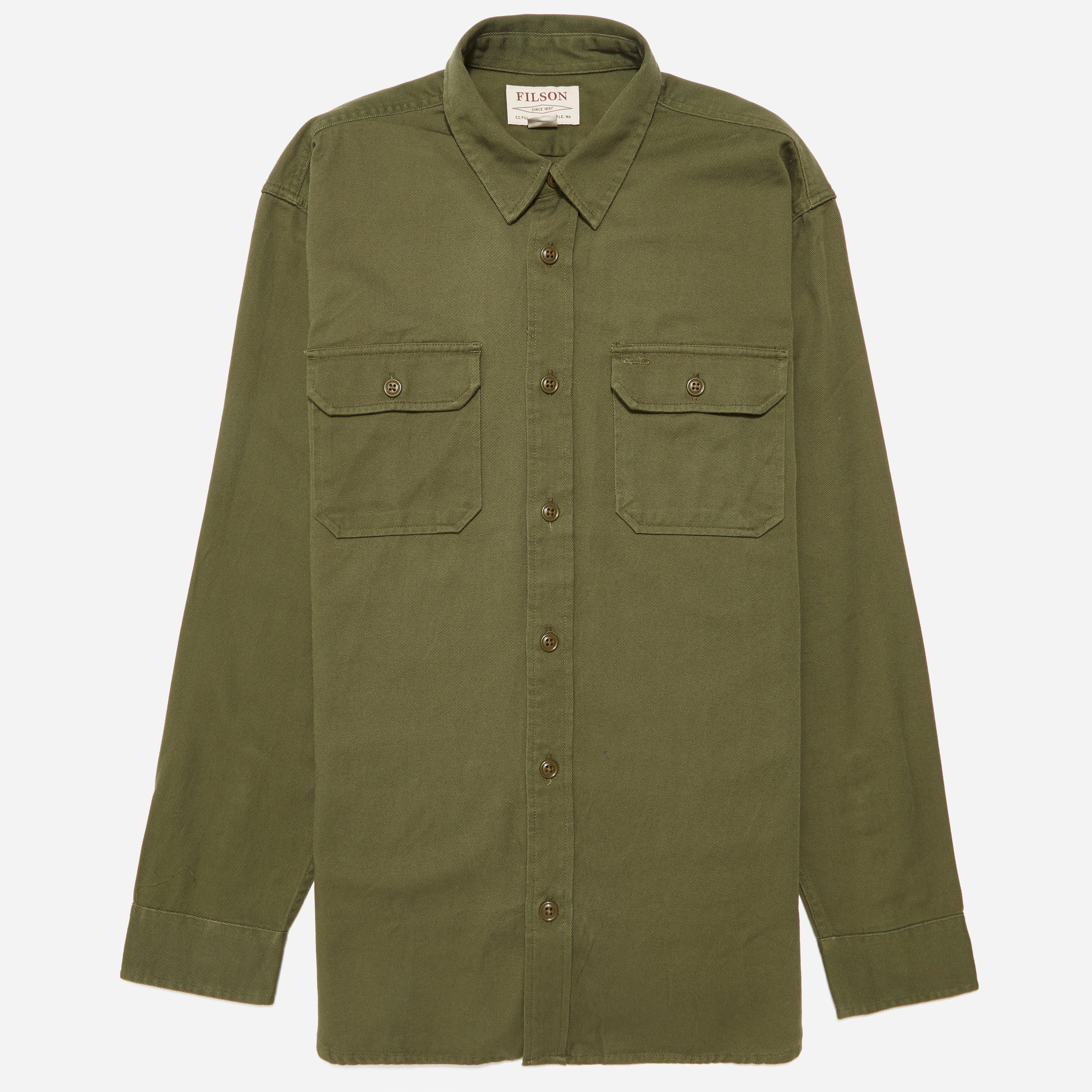Filson 6oz Drill Chino Shirt