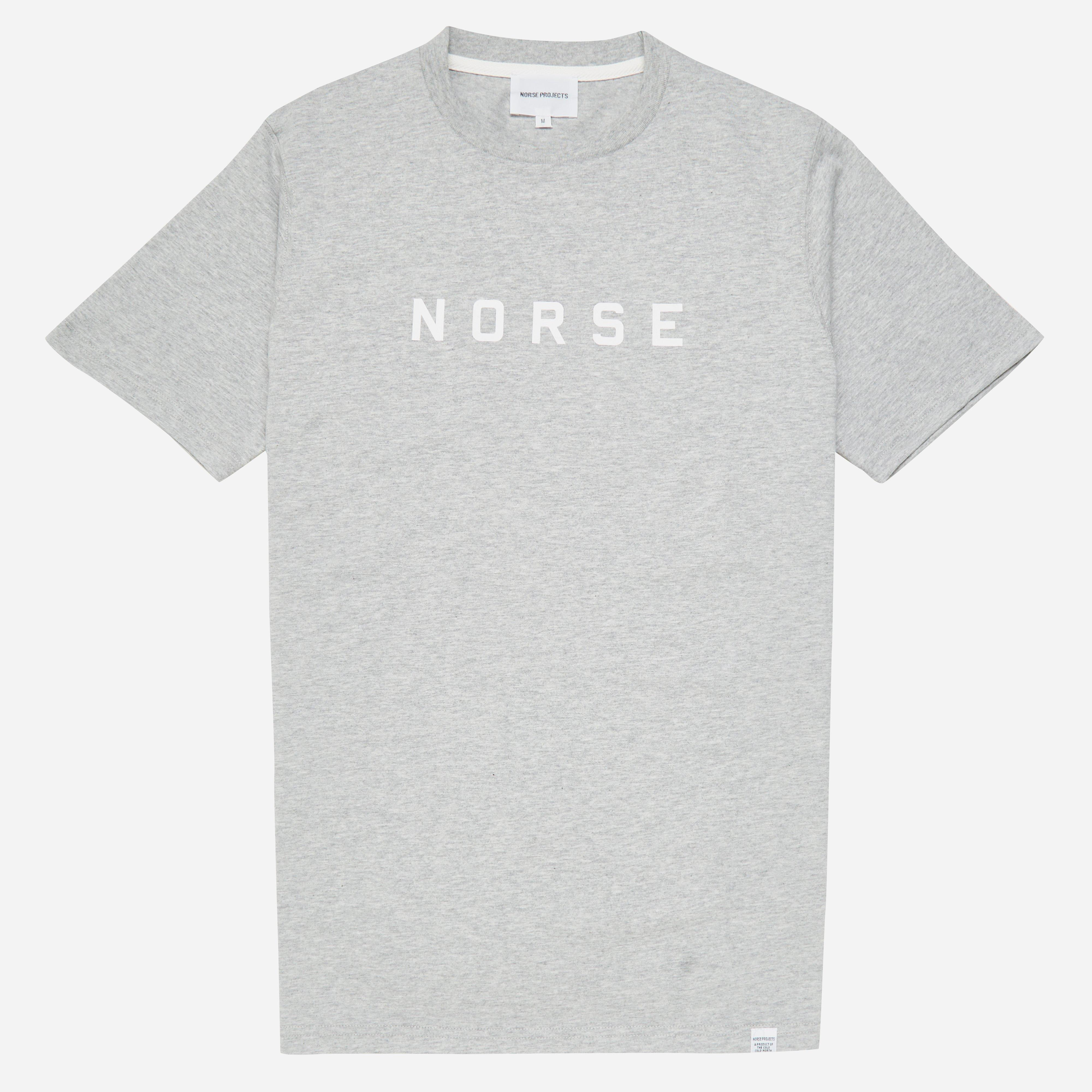 Norse Projects Niels Standard Logo T-shirt