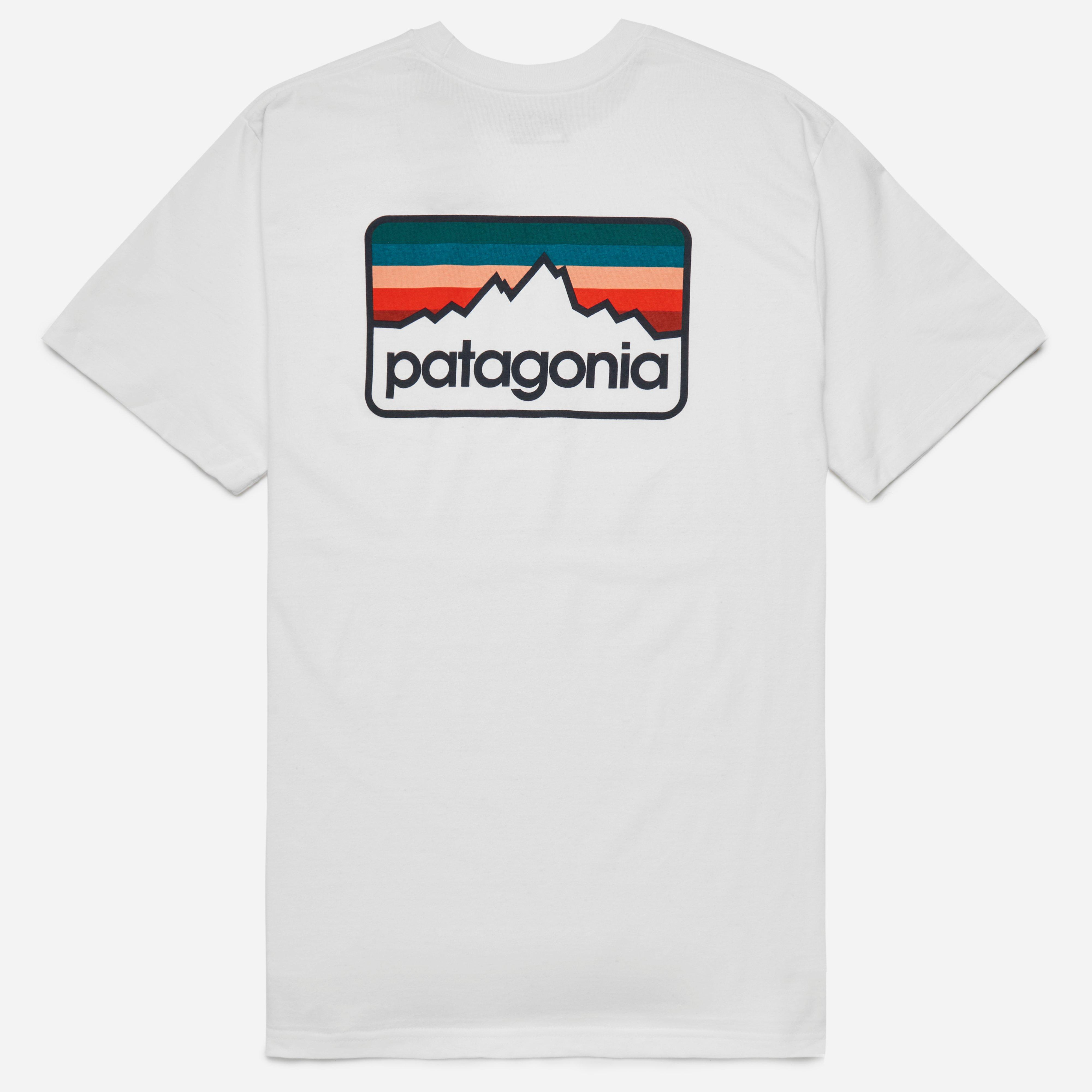 Patagonia Line Logo Badge Cotton Poly T-shirt