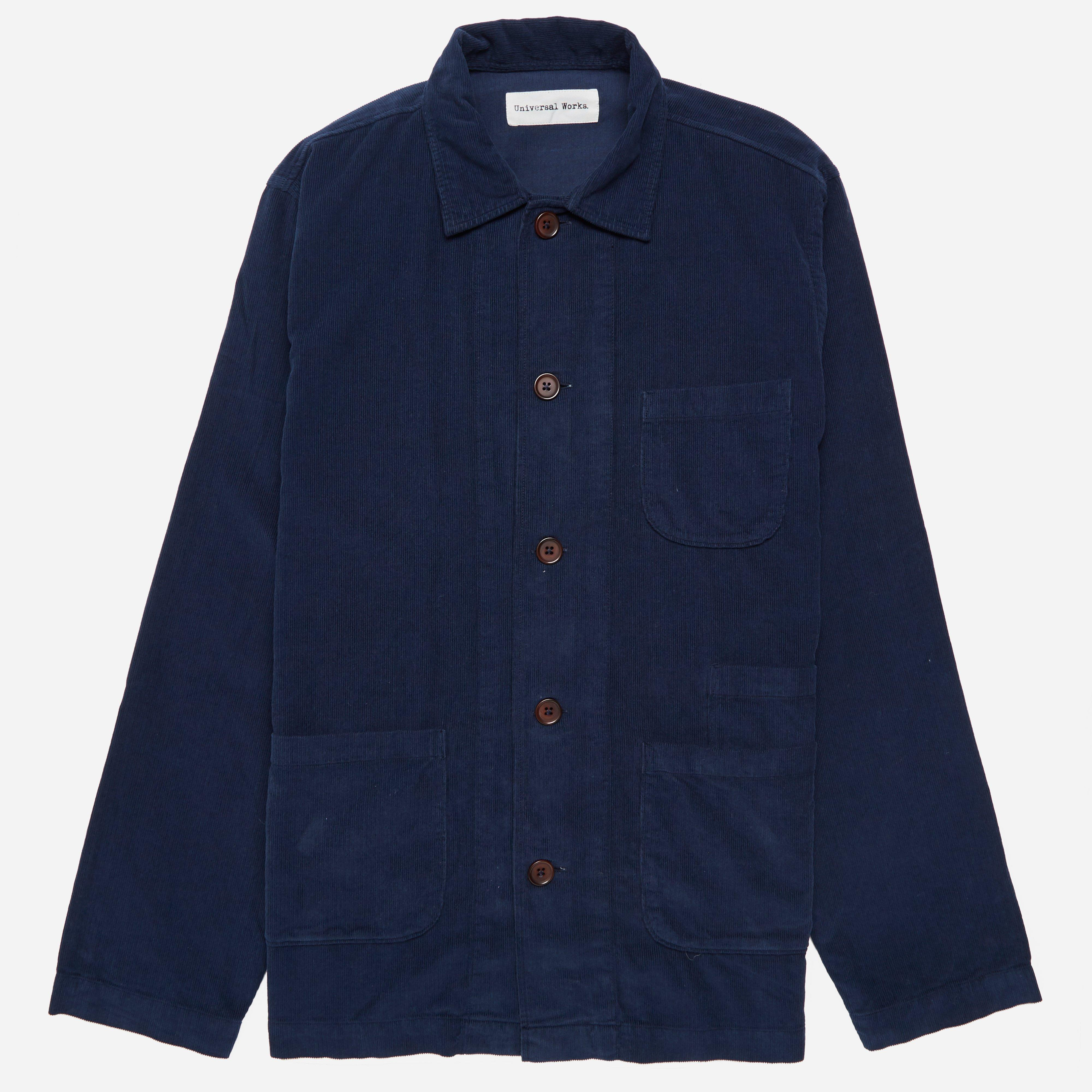 Universal Works Fine Cord Bakers Overshirt