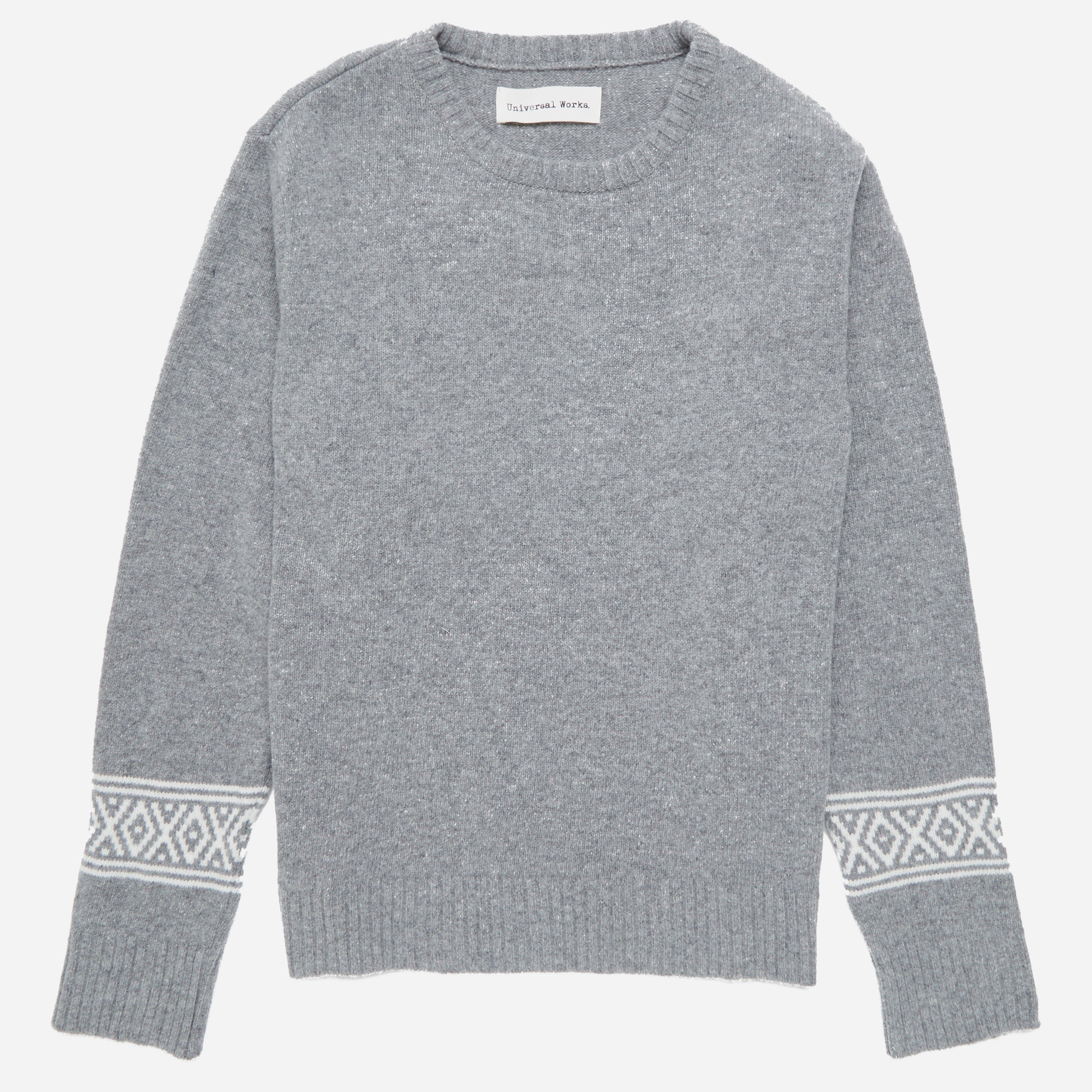 Universal Works Soft Wool Faroe Classic Crew