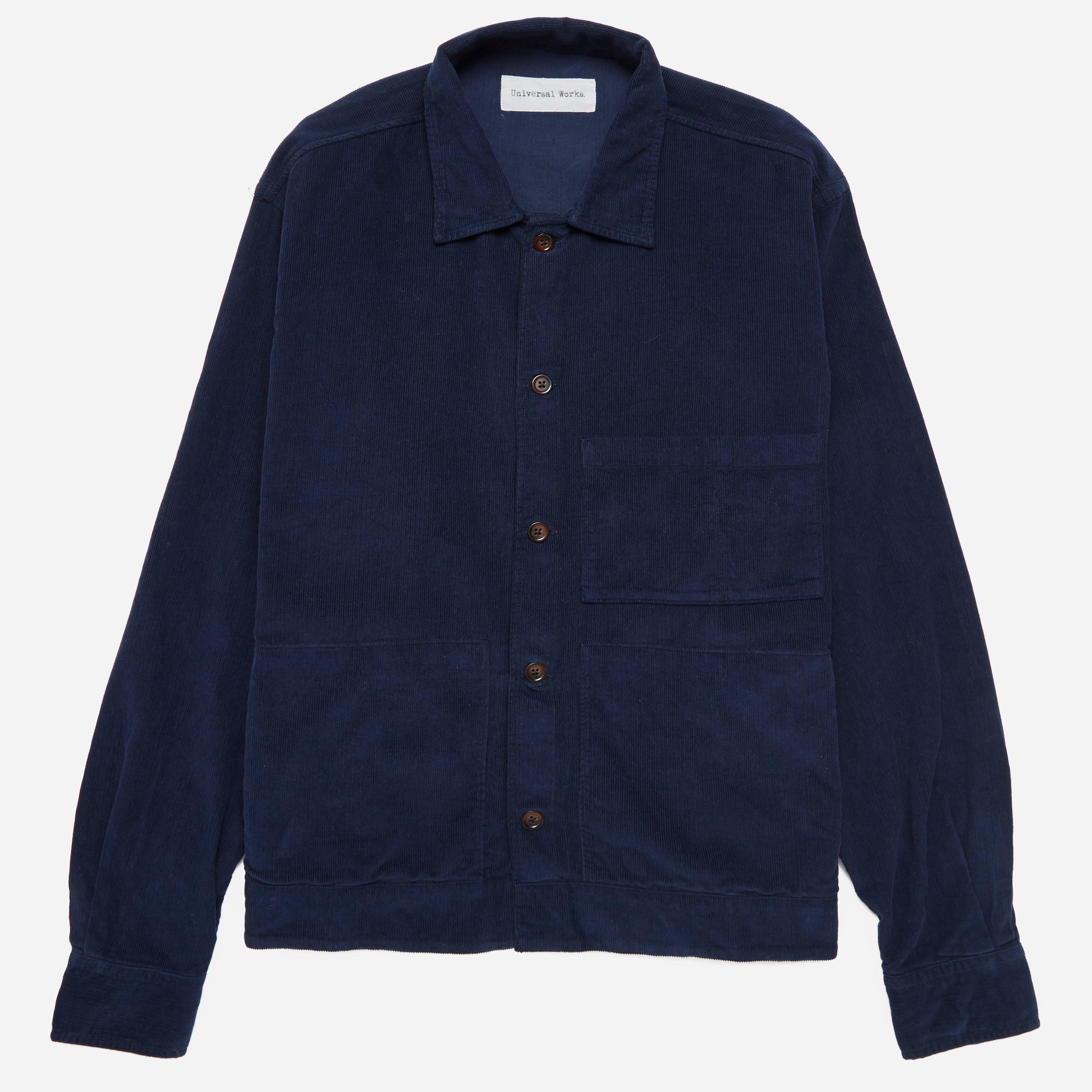 Universal Works Fine Cord Uniform Shirt