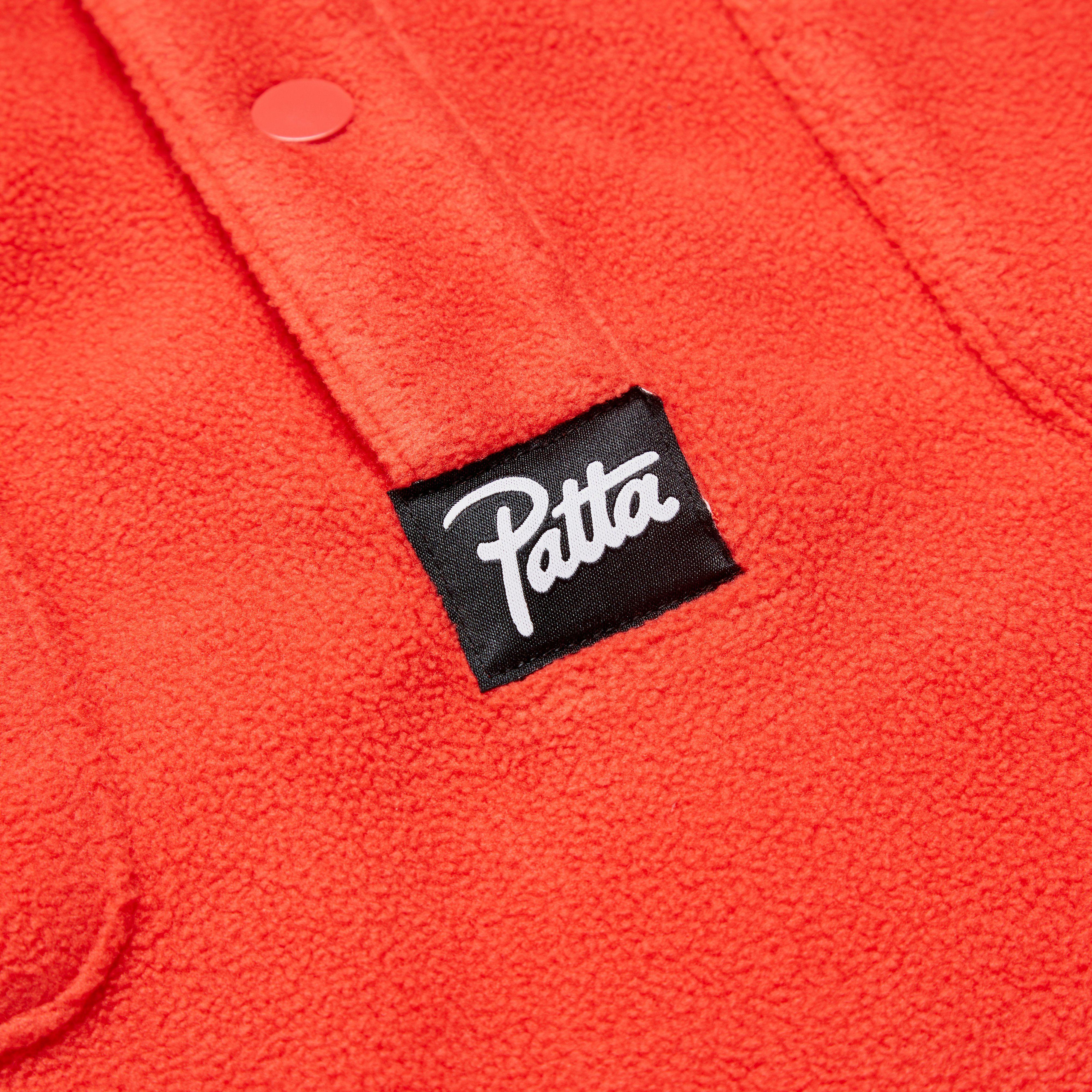 Patta Label Fleece Overhead Shirt