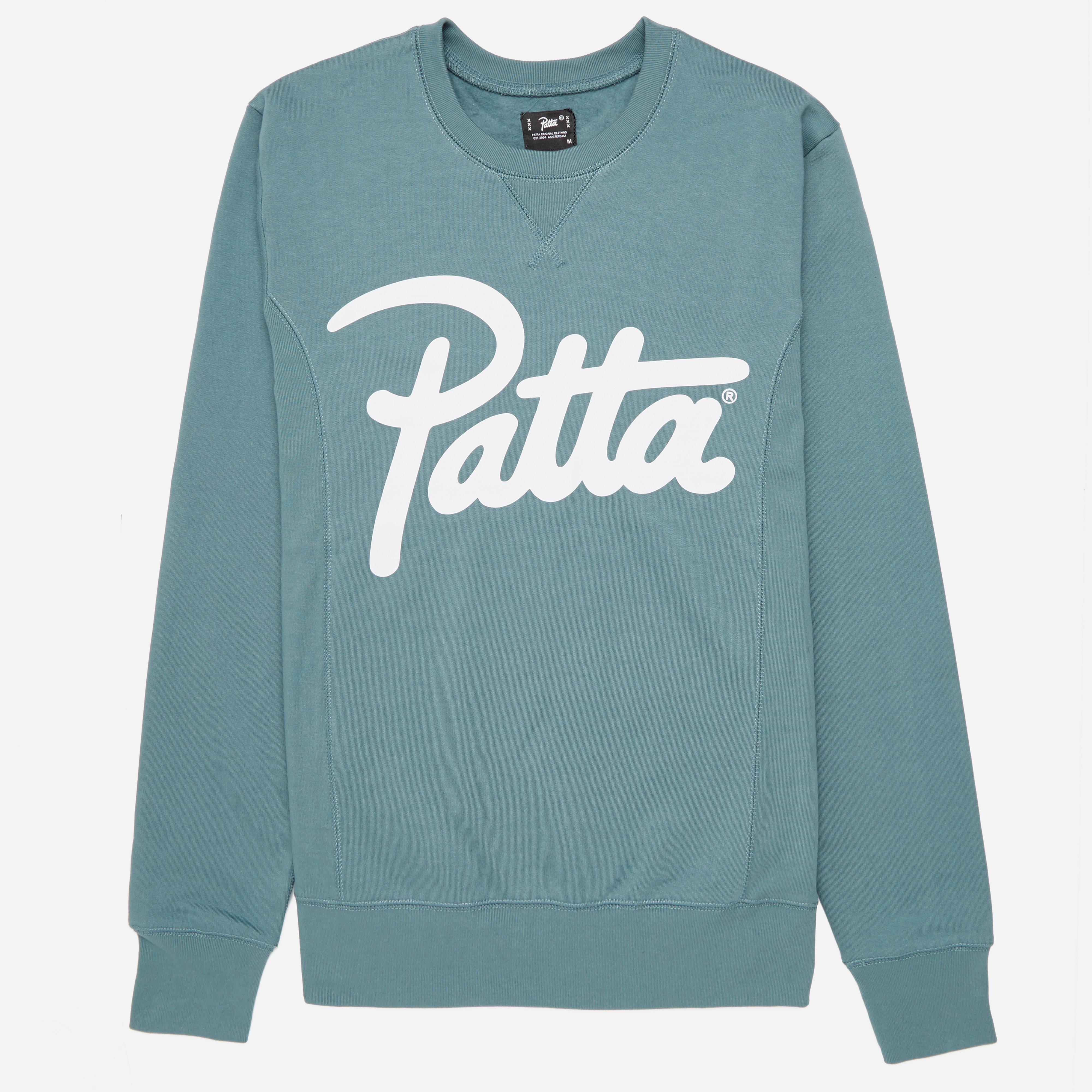 Patta Script Logo Crew Sweatshirt