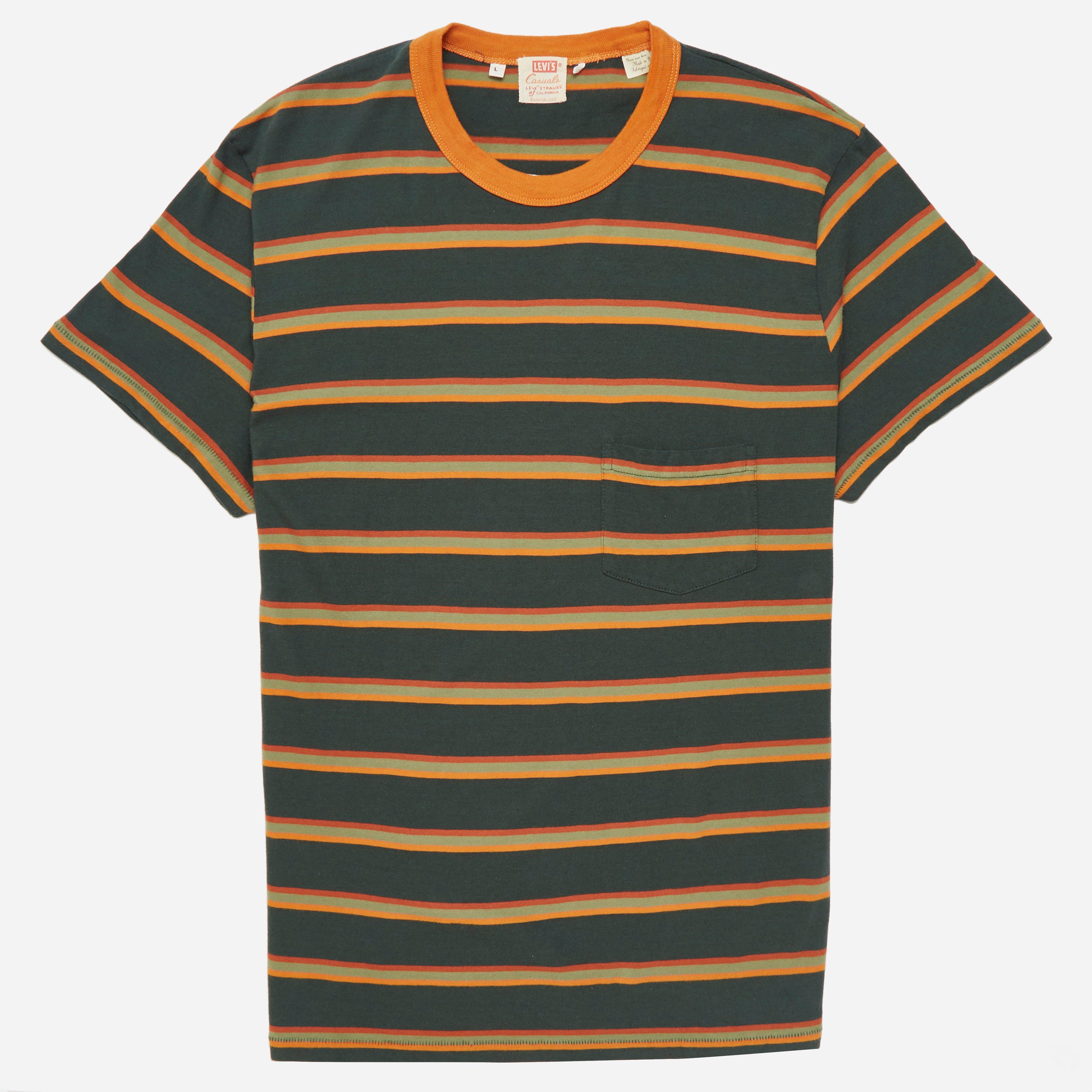 Levis Vintage 1960's Casuals Stripe T-shirt