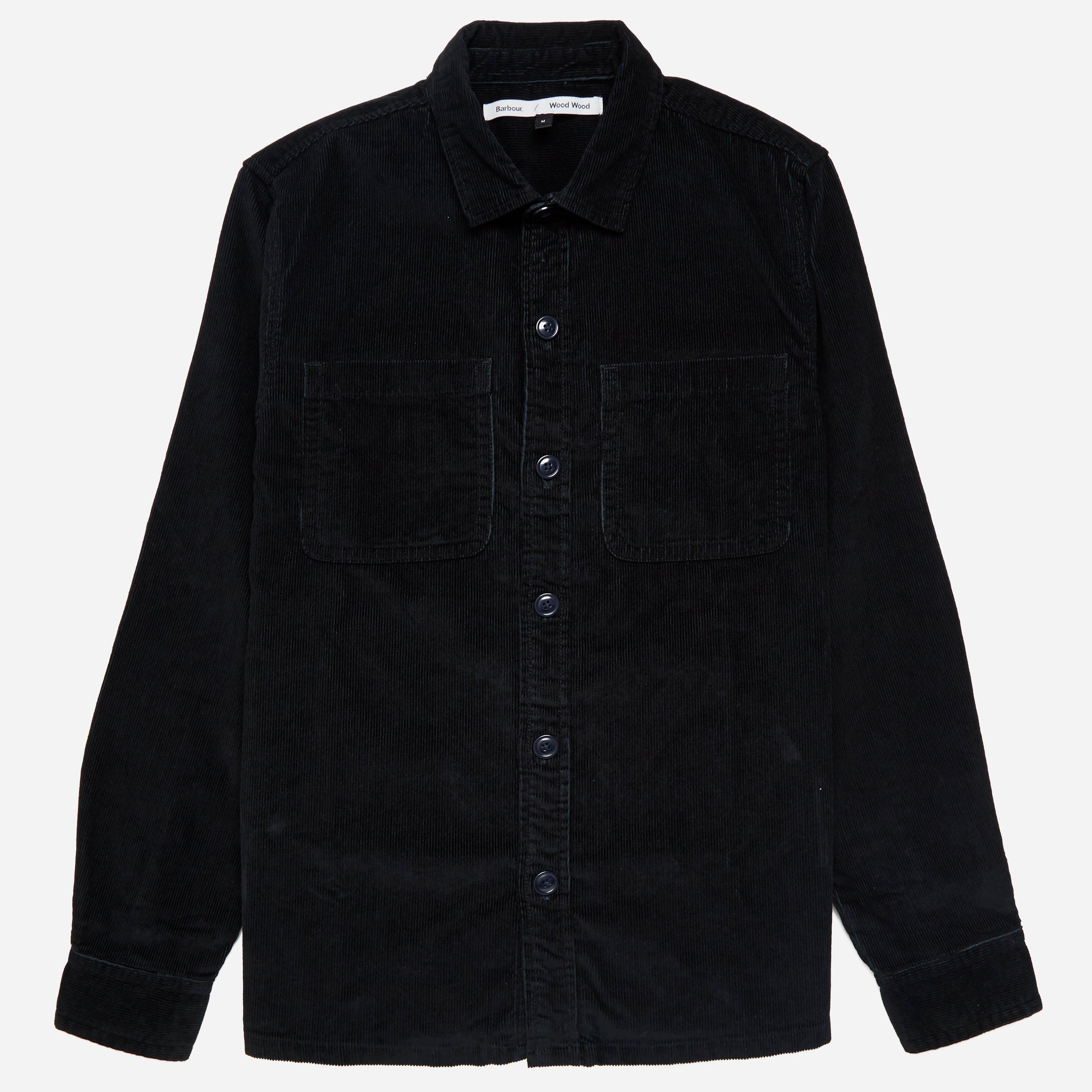 Barbour X Wood Wood Fidra Cord Overshirt