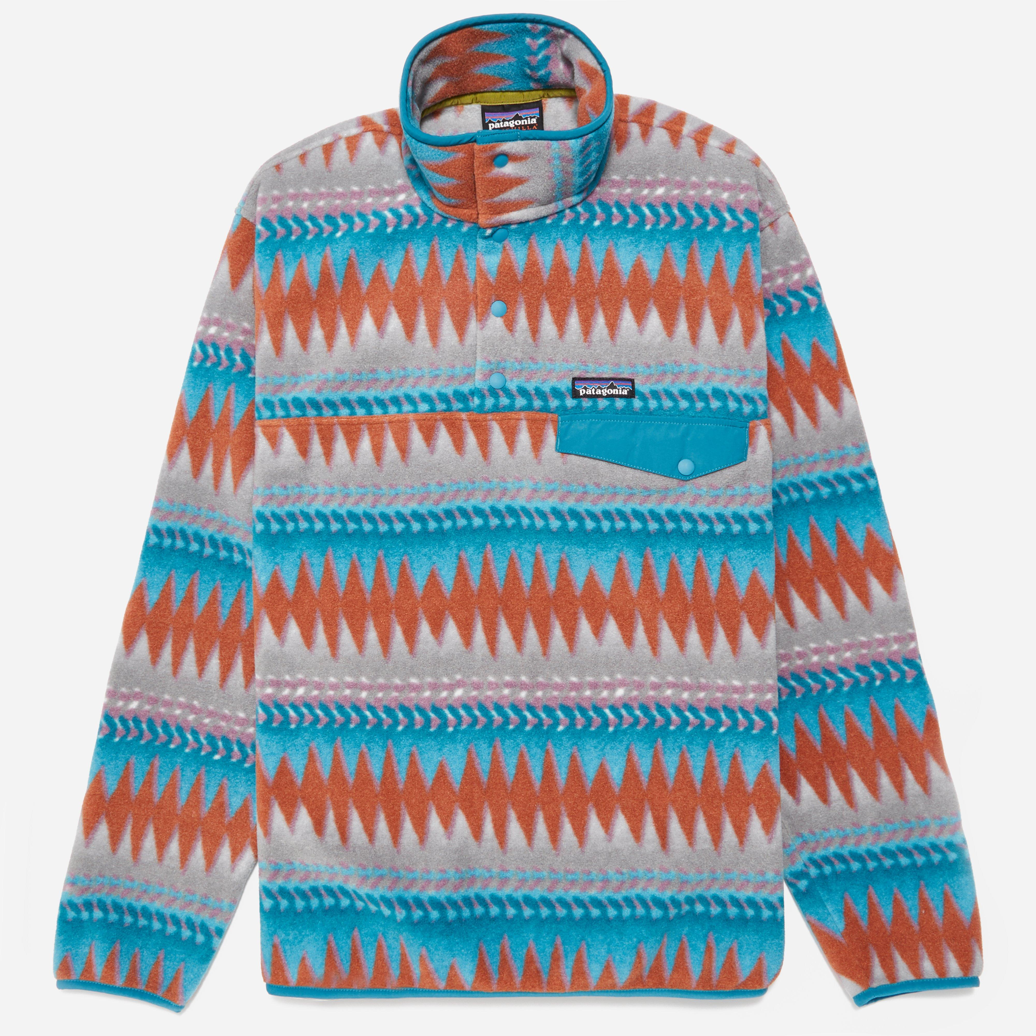 Patagonia LW Synchilla Snap T Pullover