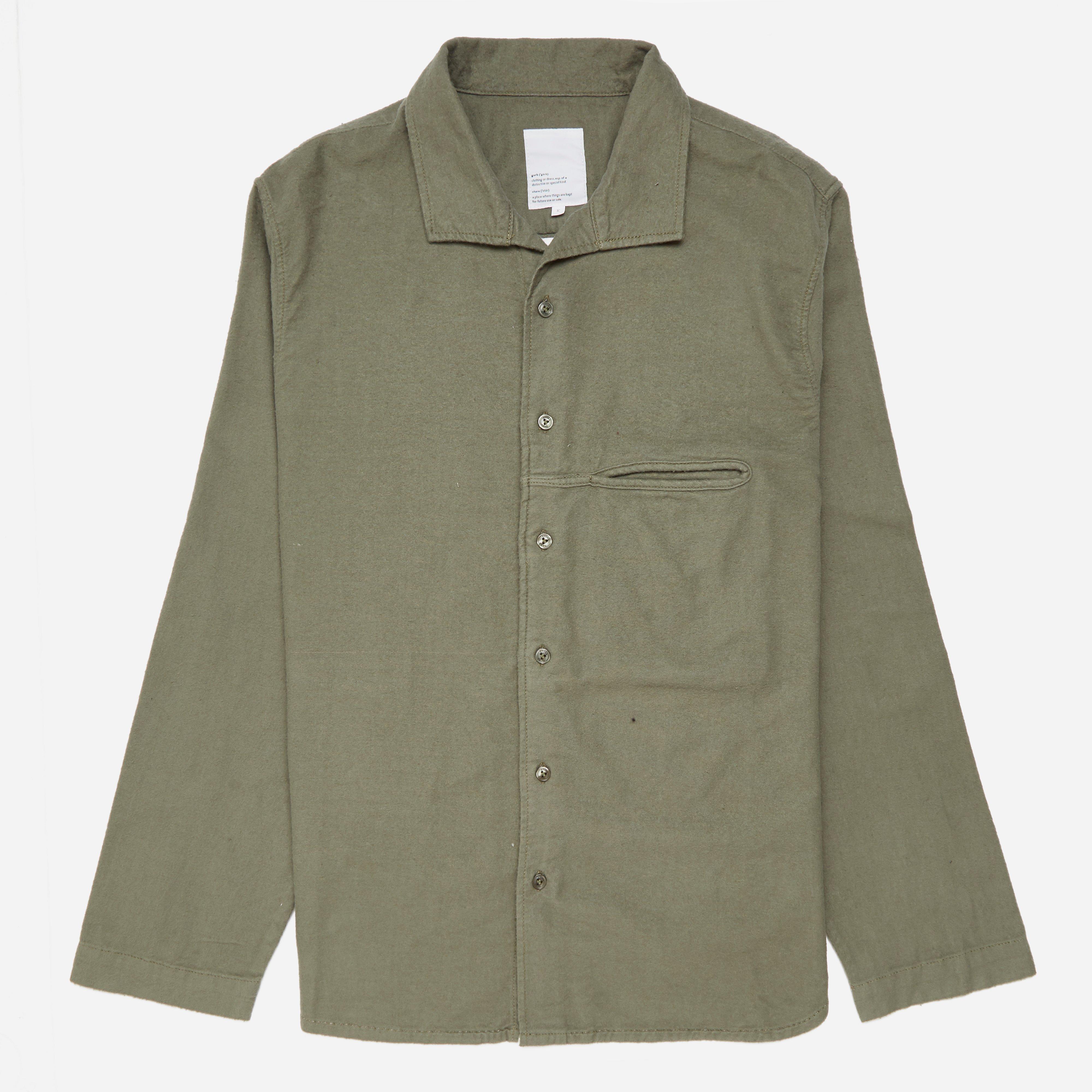 Garbstore Long Sleeve Slacker Shirt