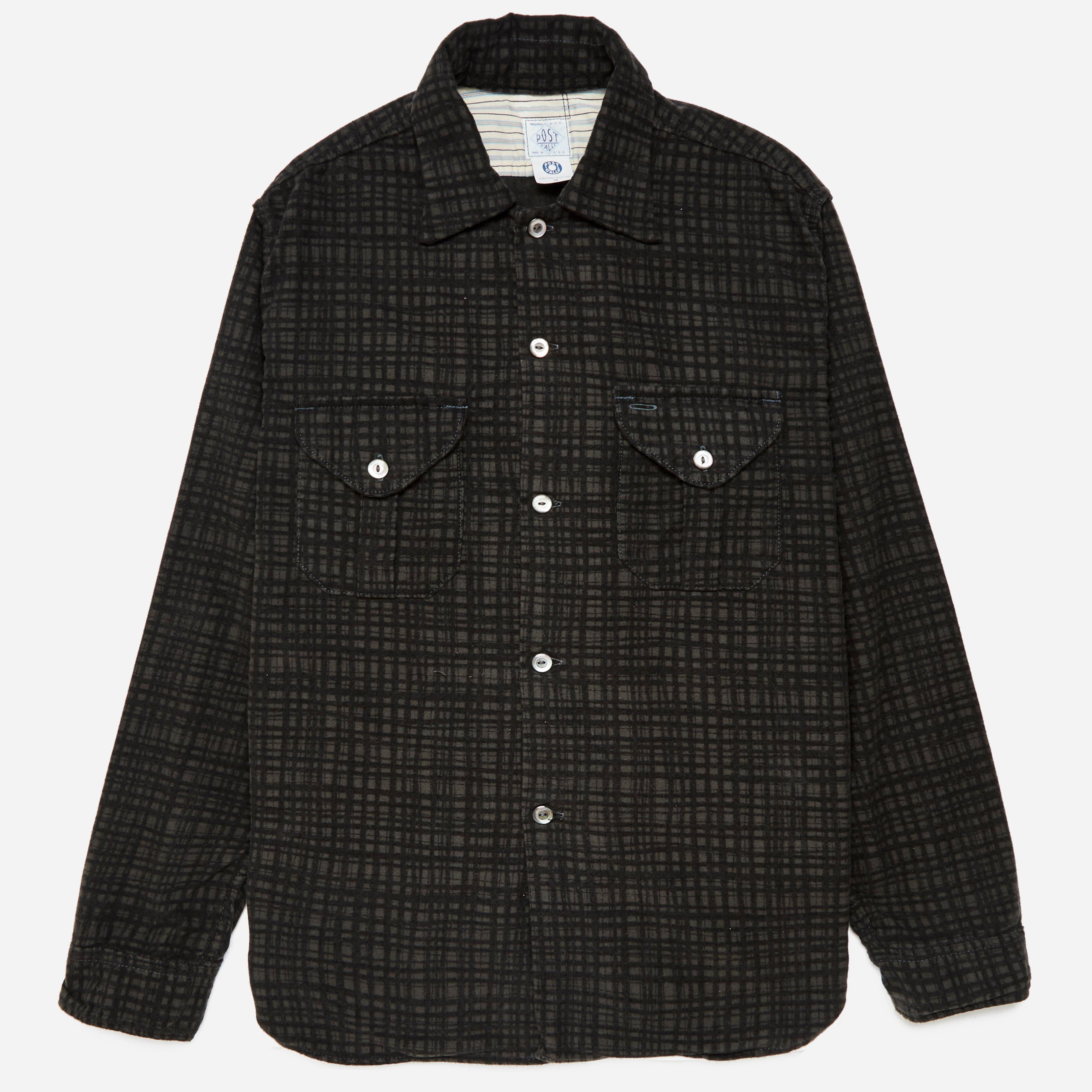 Post Overalls E-Z Cruz 5 Cotton Flannel Shirt