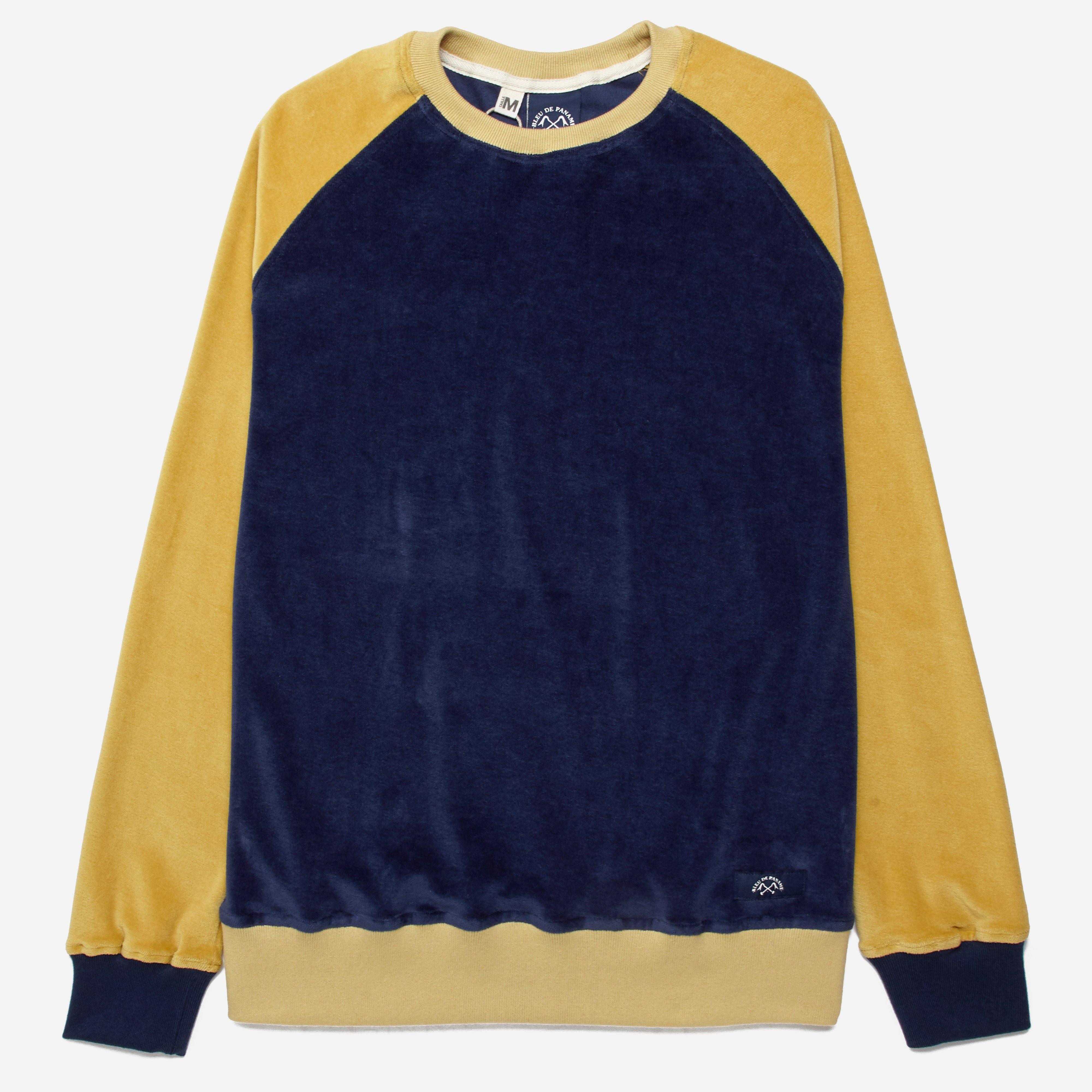 Bleu De Paname Raglan Sweatshirt