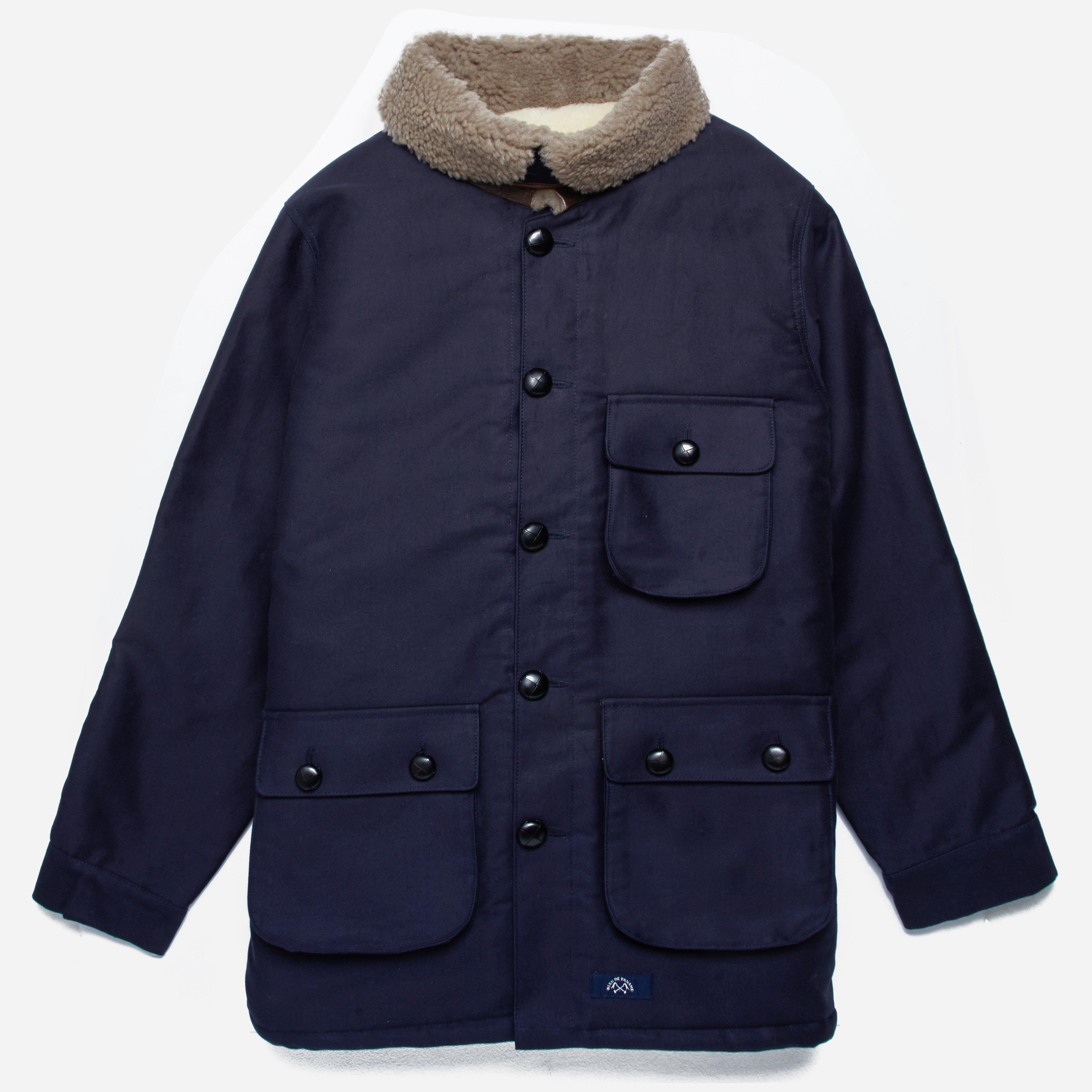 Bleu De Paname Double Counter Jacket