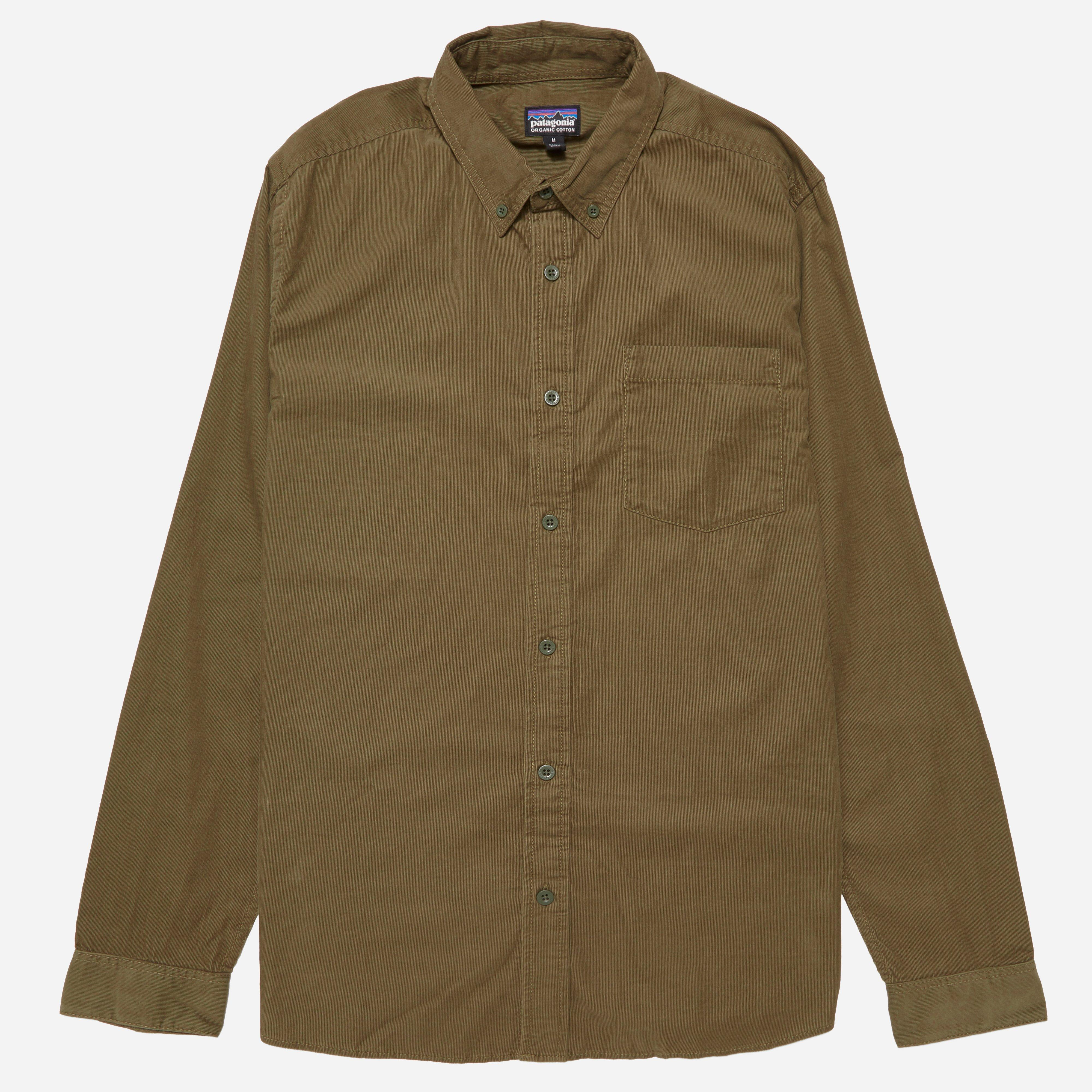 Patagonia Bluffside Cord Shirt