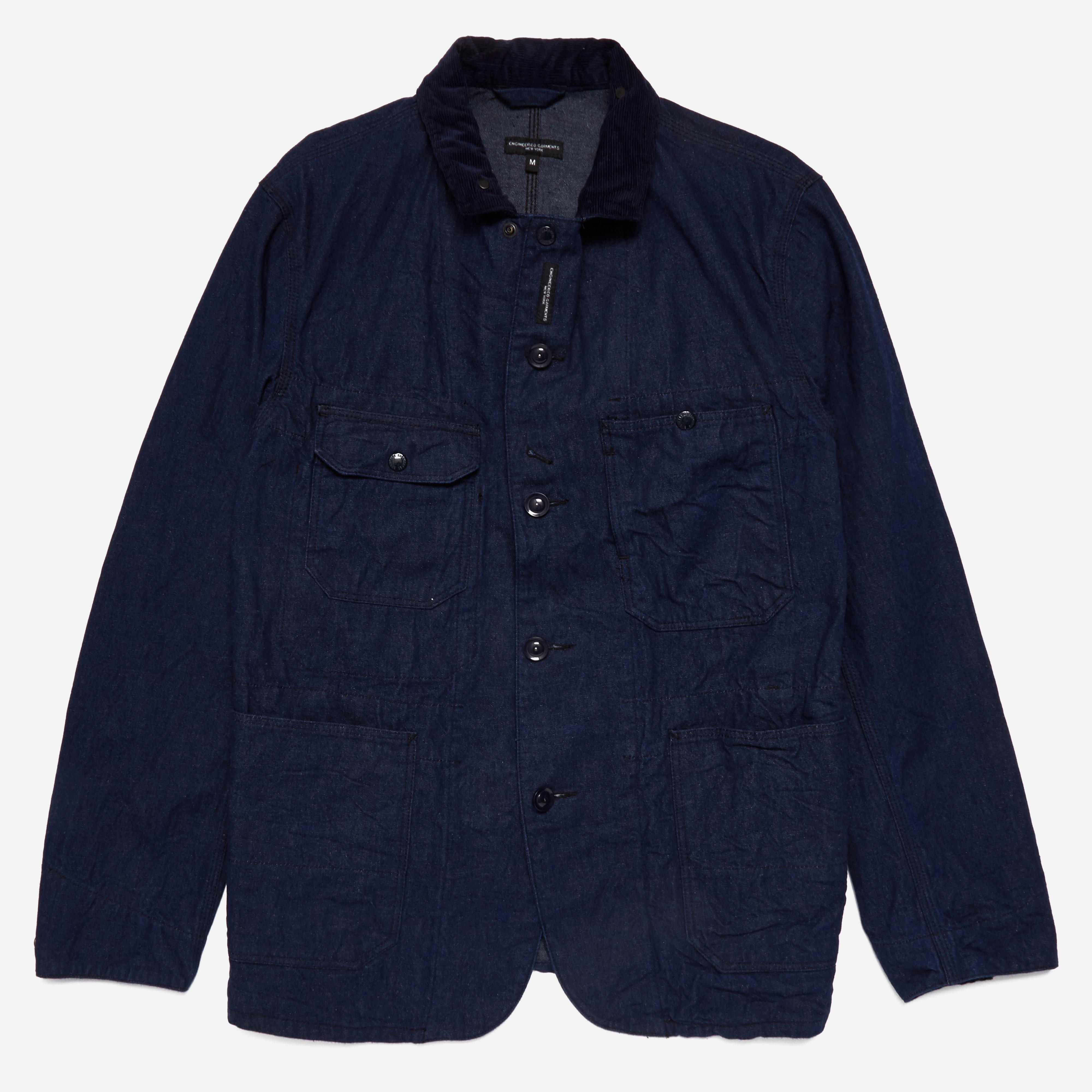 Engineered Garments Coverall Jacket - 11oz Cone Denim