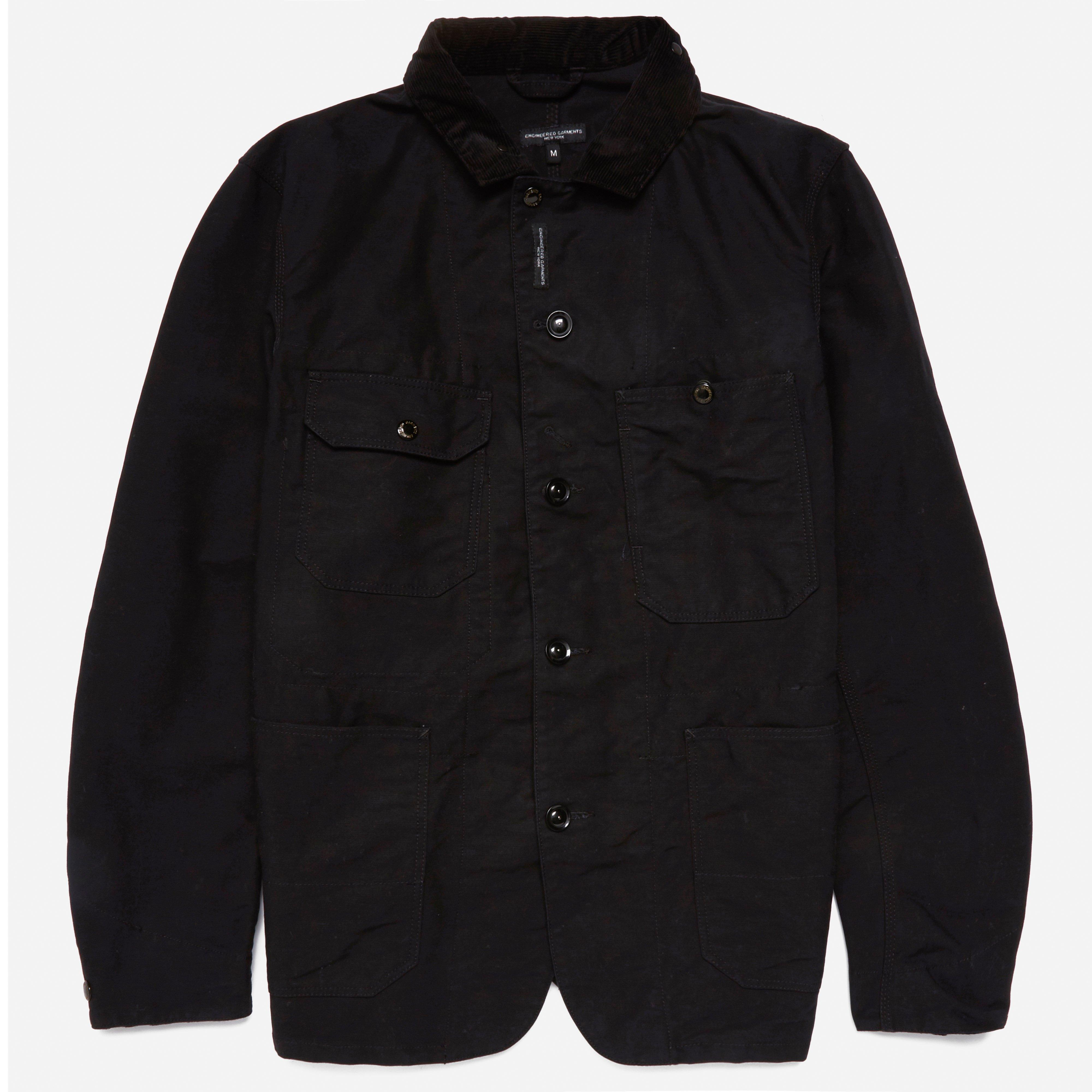 Engineered Garments Coverall Jacket - Cotton Double Cloth