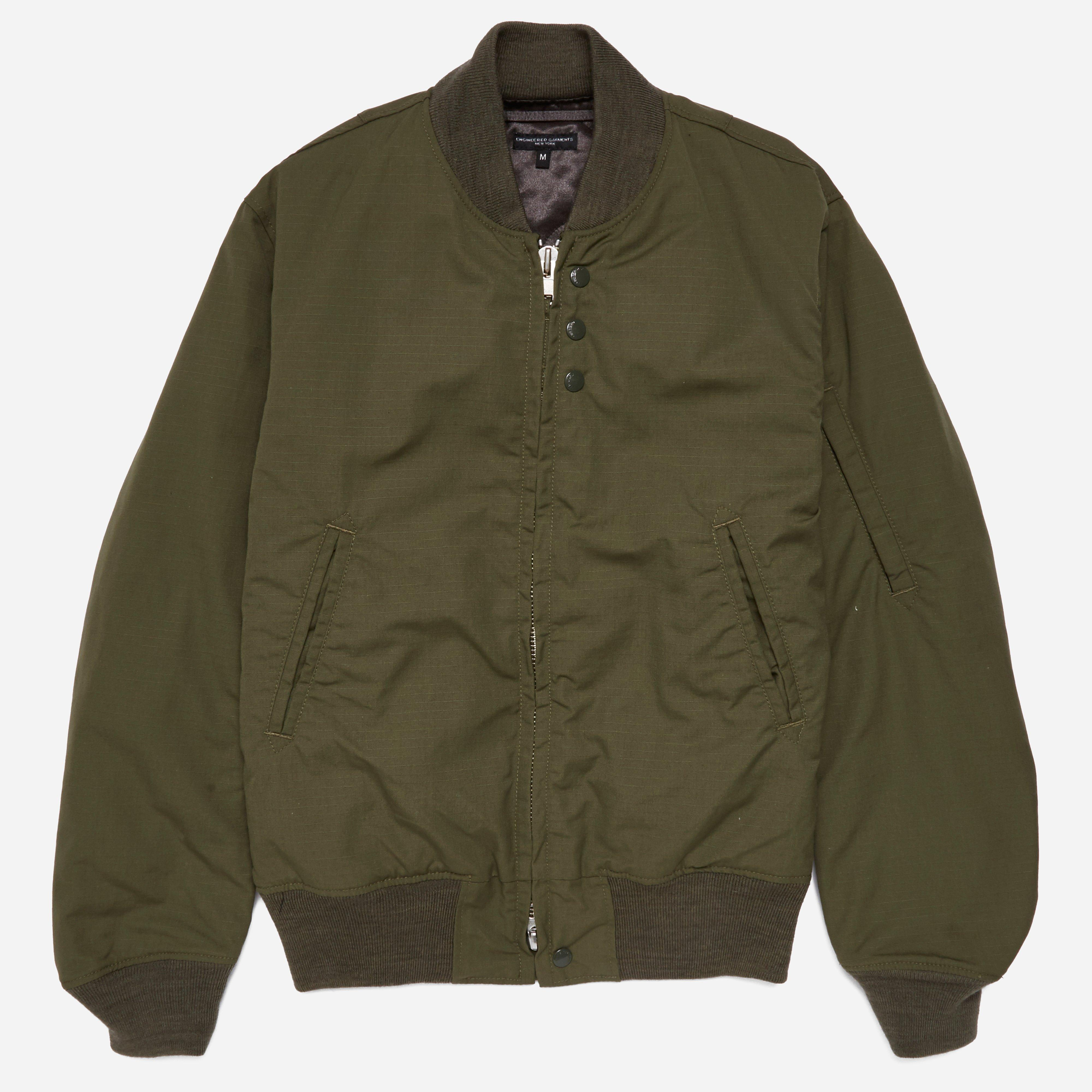 Engineered Garments Aviator Jacket - Nyco Ripstop