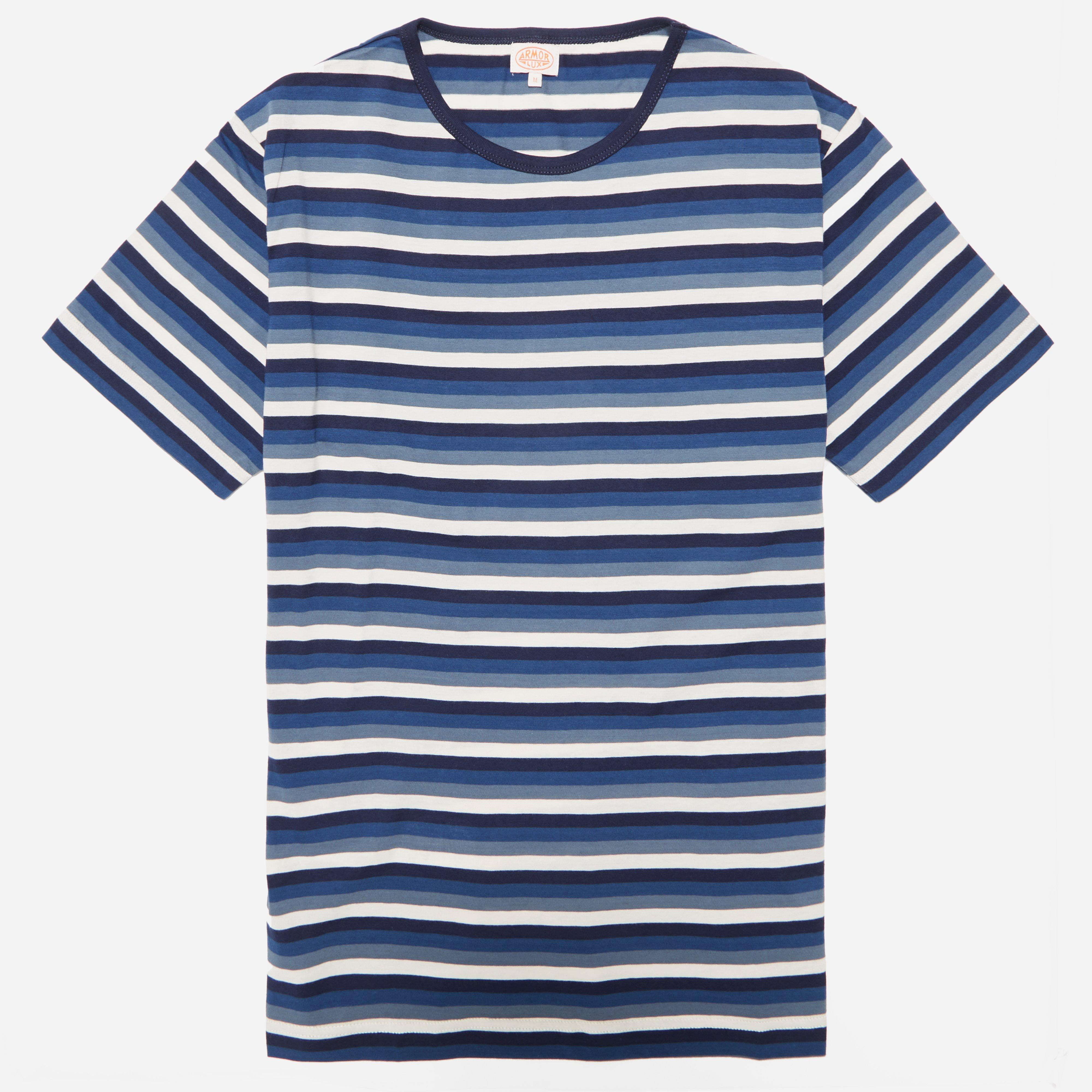 Armor Lux 75748 Stripe T-shirt