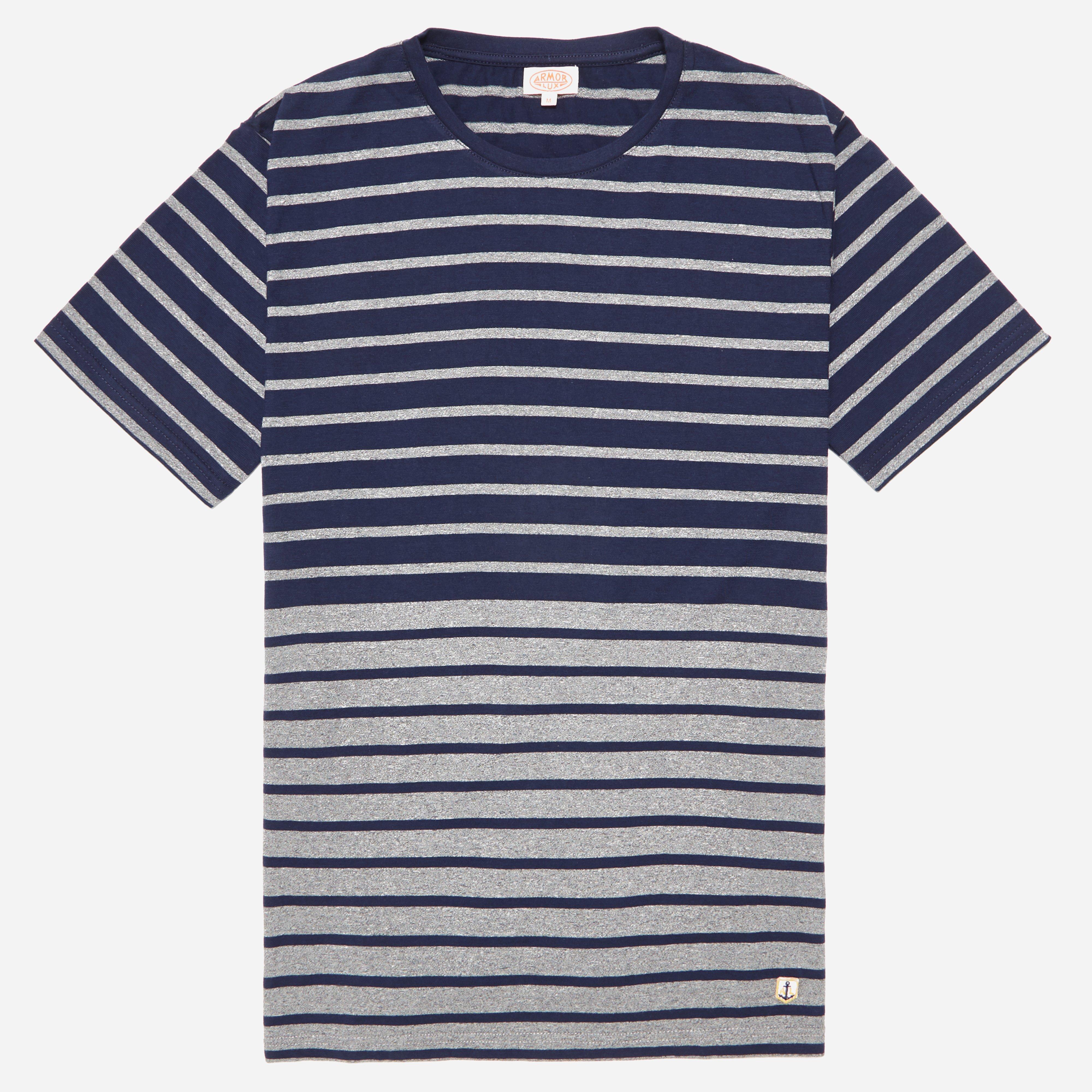 Armor Lux 75747 Stripe T-shirt